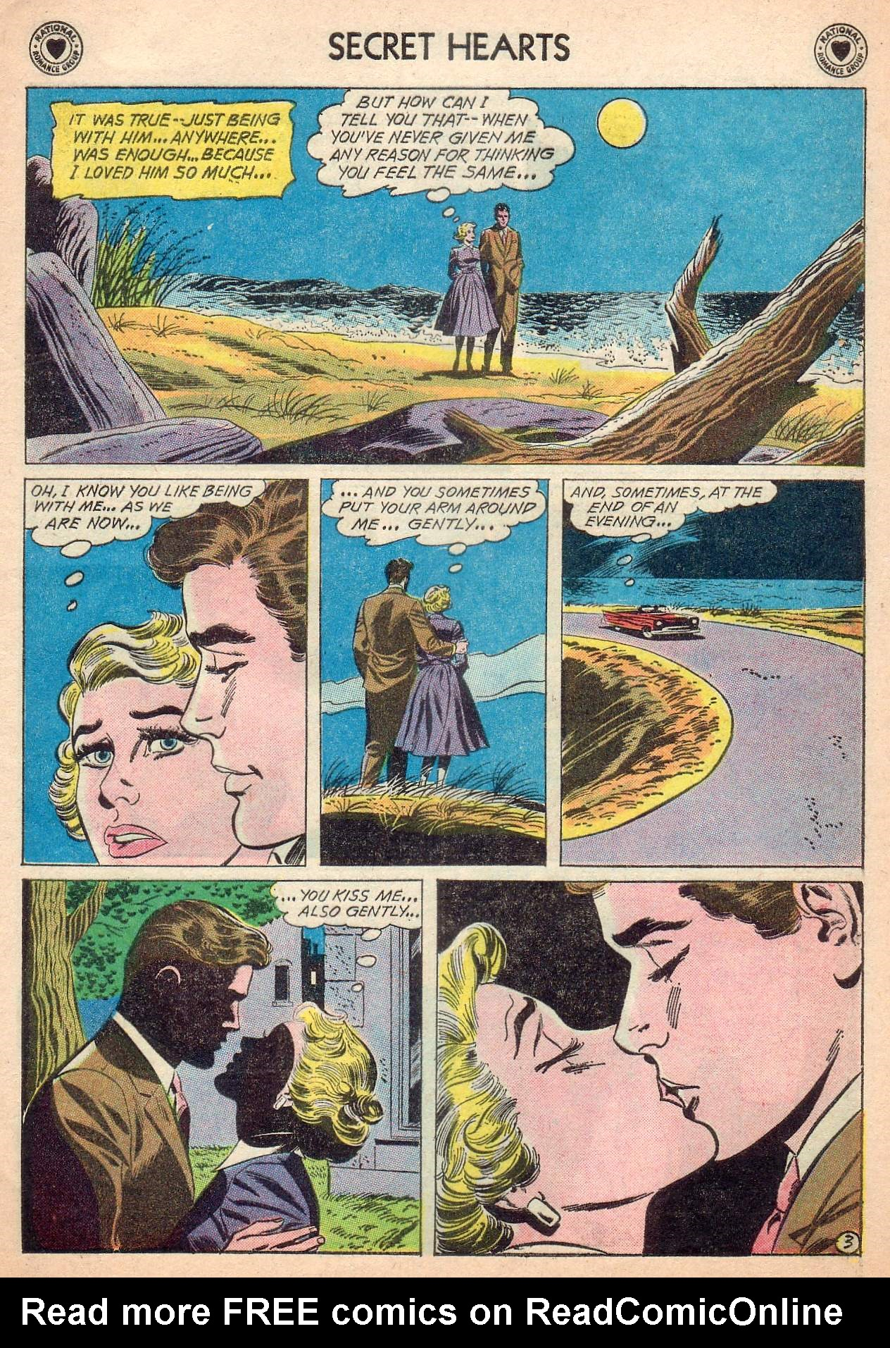Read online Secret Hearts comic -  Issue #63 - 5