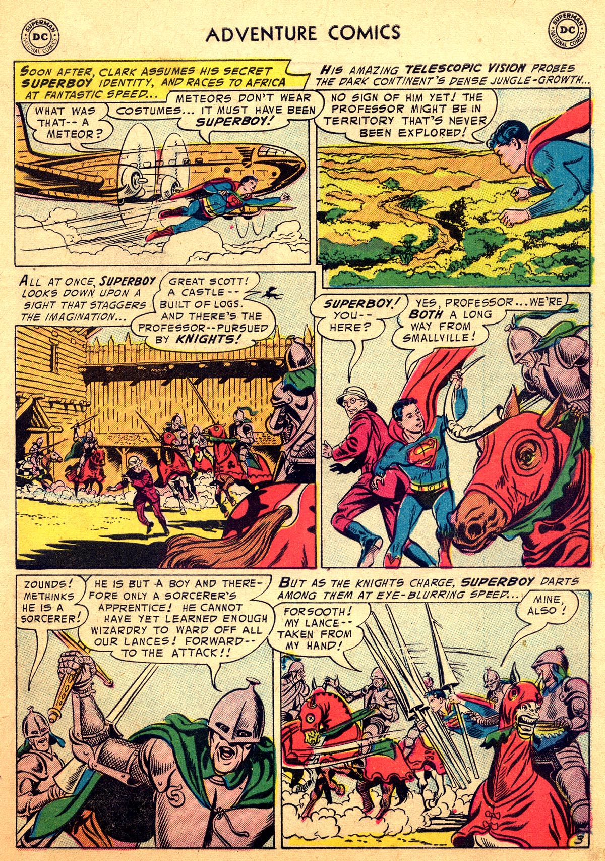 Read online Adventure Comics (1938) comic -  Issue #216 - 5