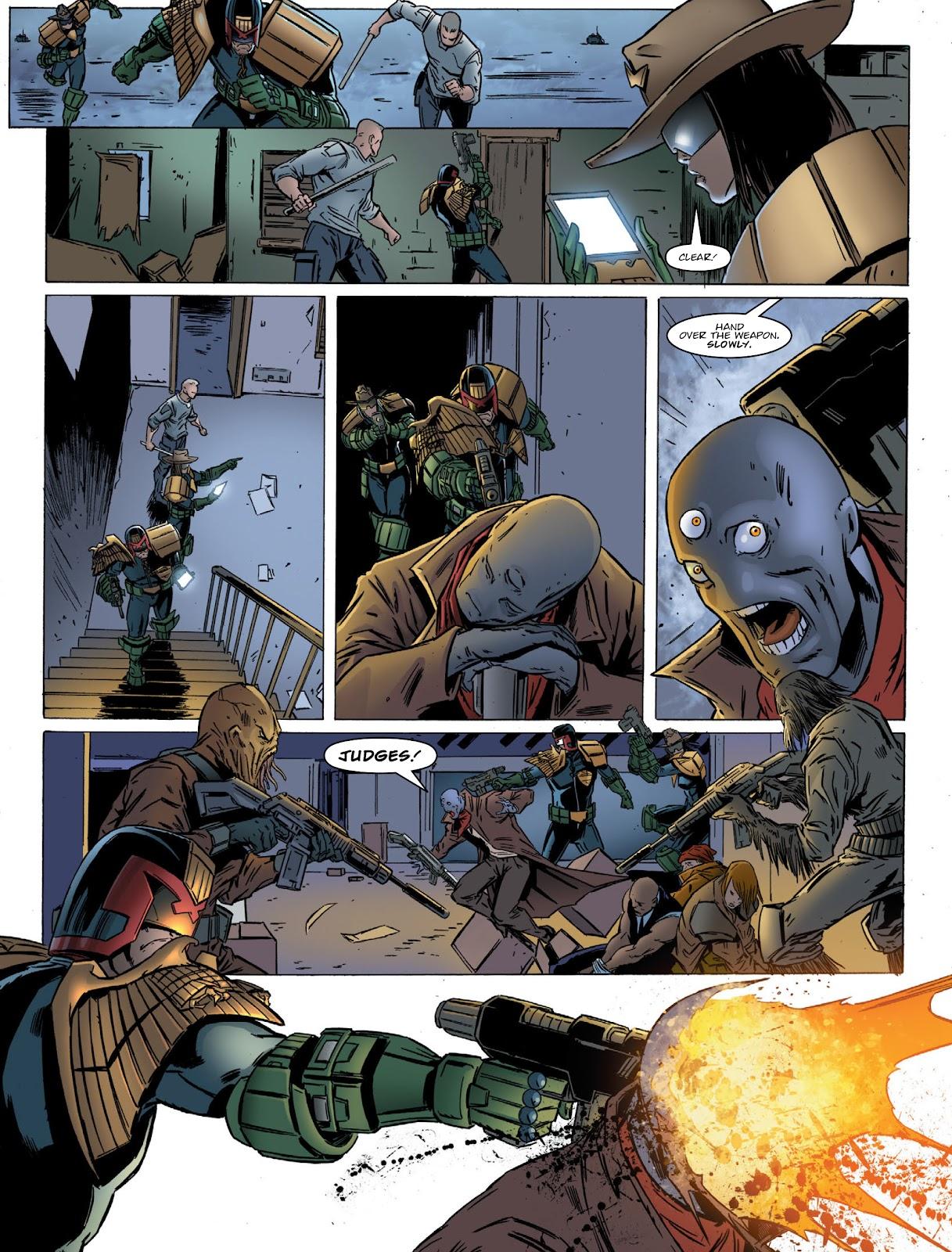 Judge Dredd Megazine (Vol. 5) Issue #381 #180 - English 12