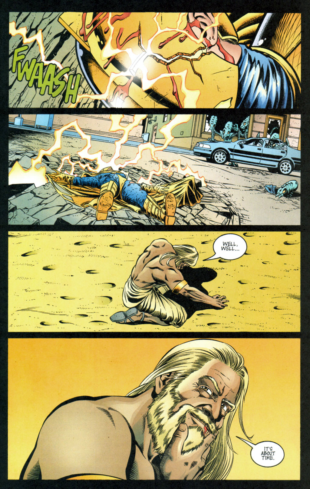 Read online Doctor Fate (2003) comic -  Issue #4 - 22