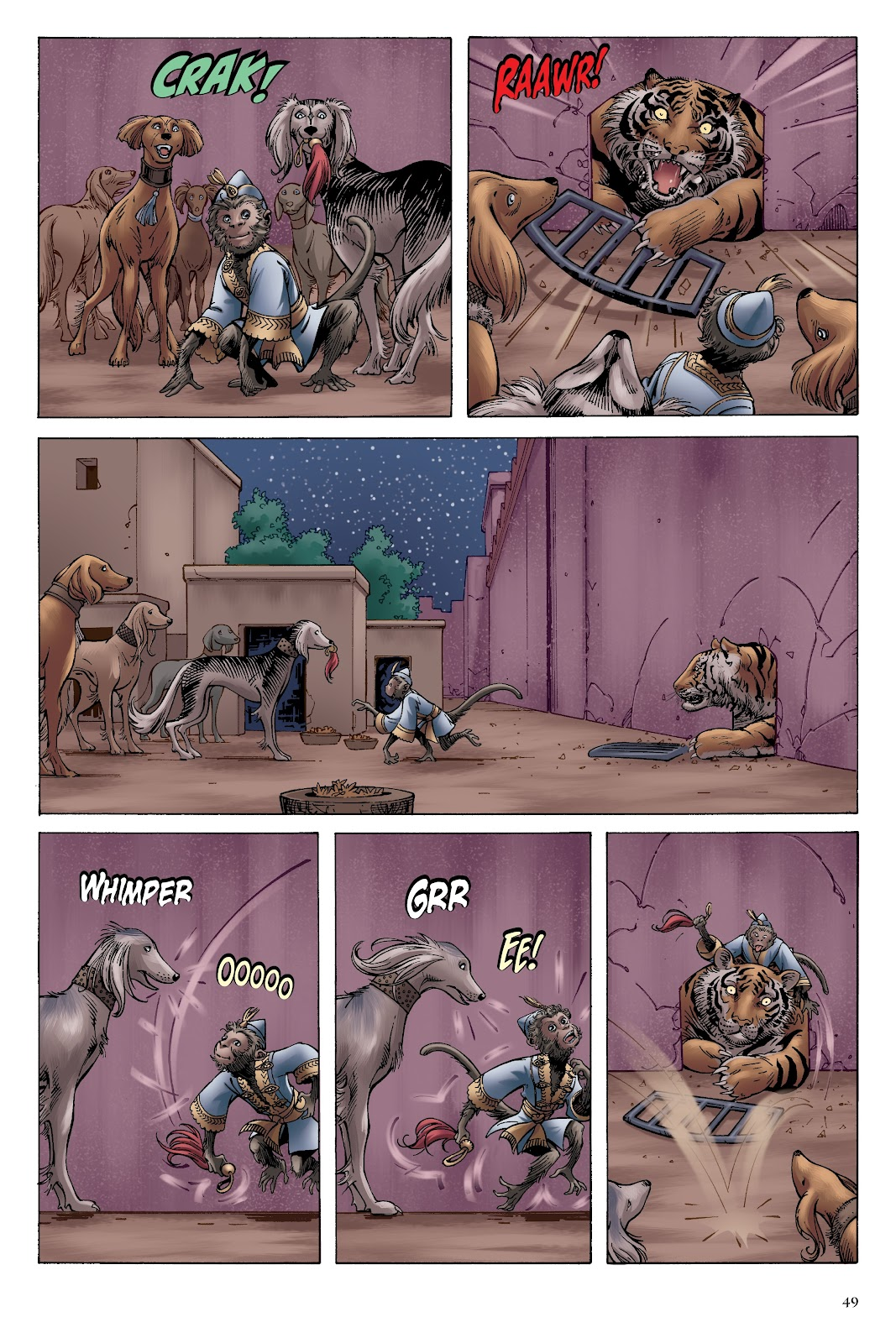 Read online Disney Aladdin: Four Tales of Agrabah comic -  Issue # TPB - 49