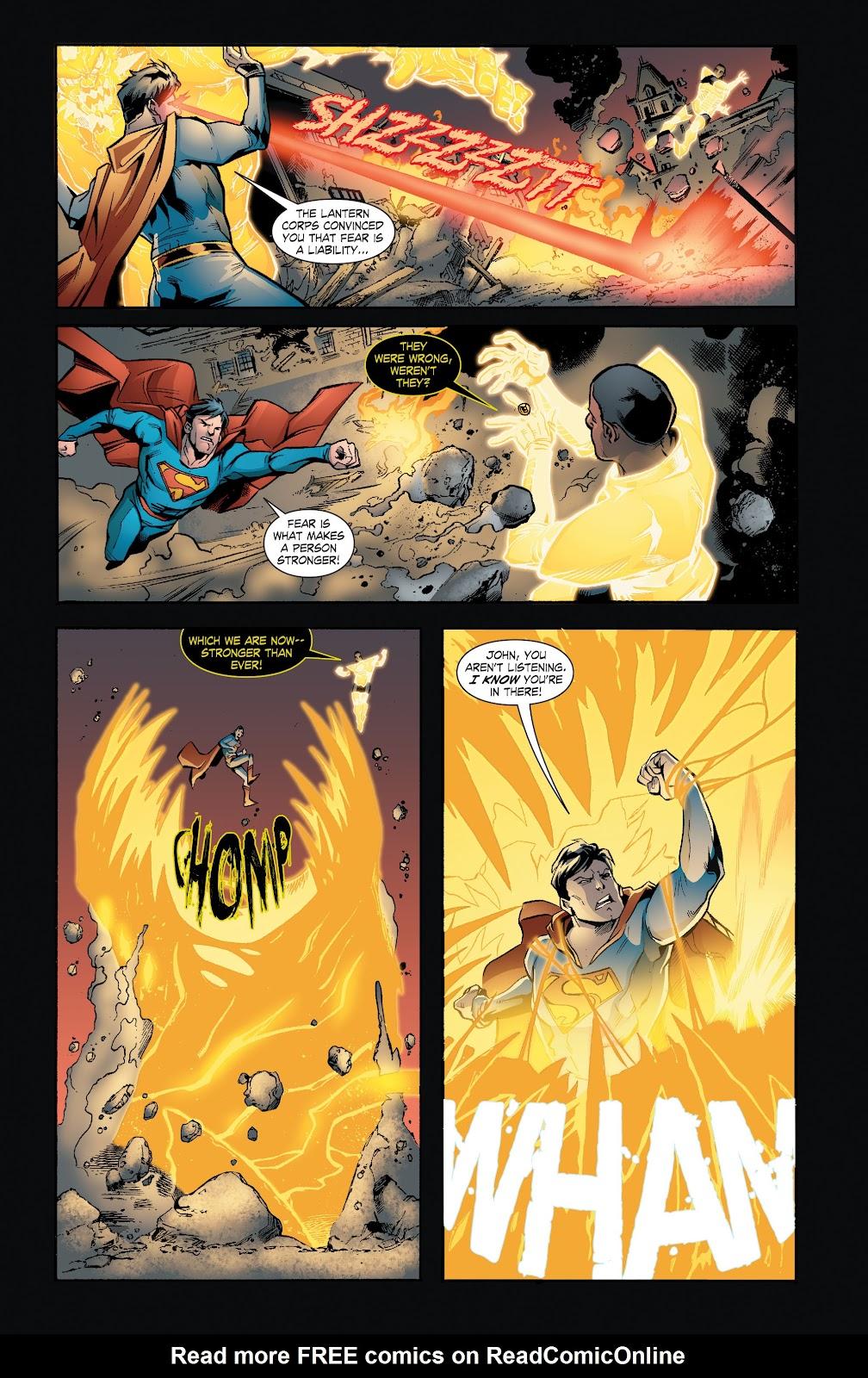 Read online Smallville Season 11 [II] comic -  Issue # TPB 7 - 108