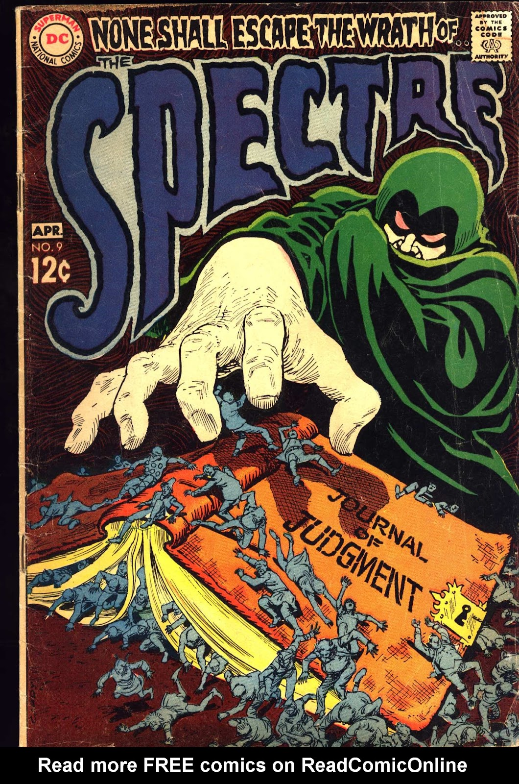 The Spectre (1967) 9 Page 1