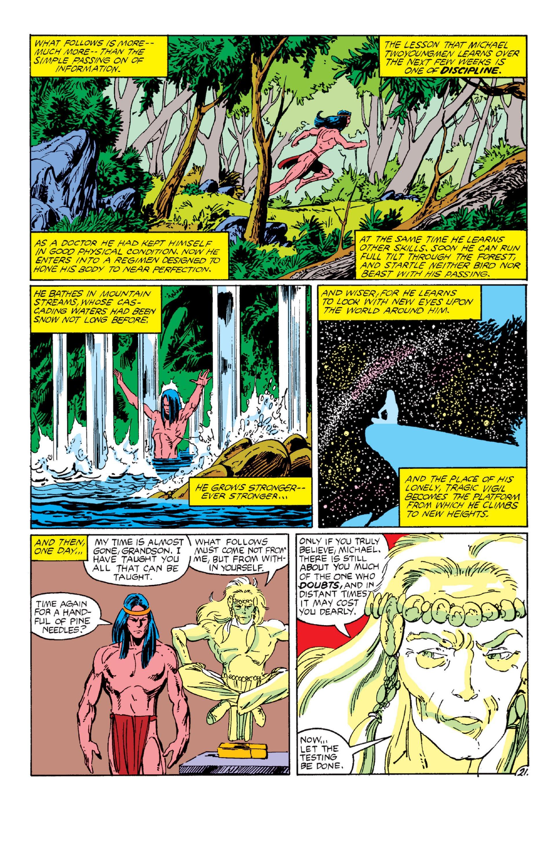 Read online Alpha Flight (1983) comic -  Issue #6 - 21