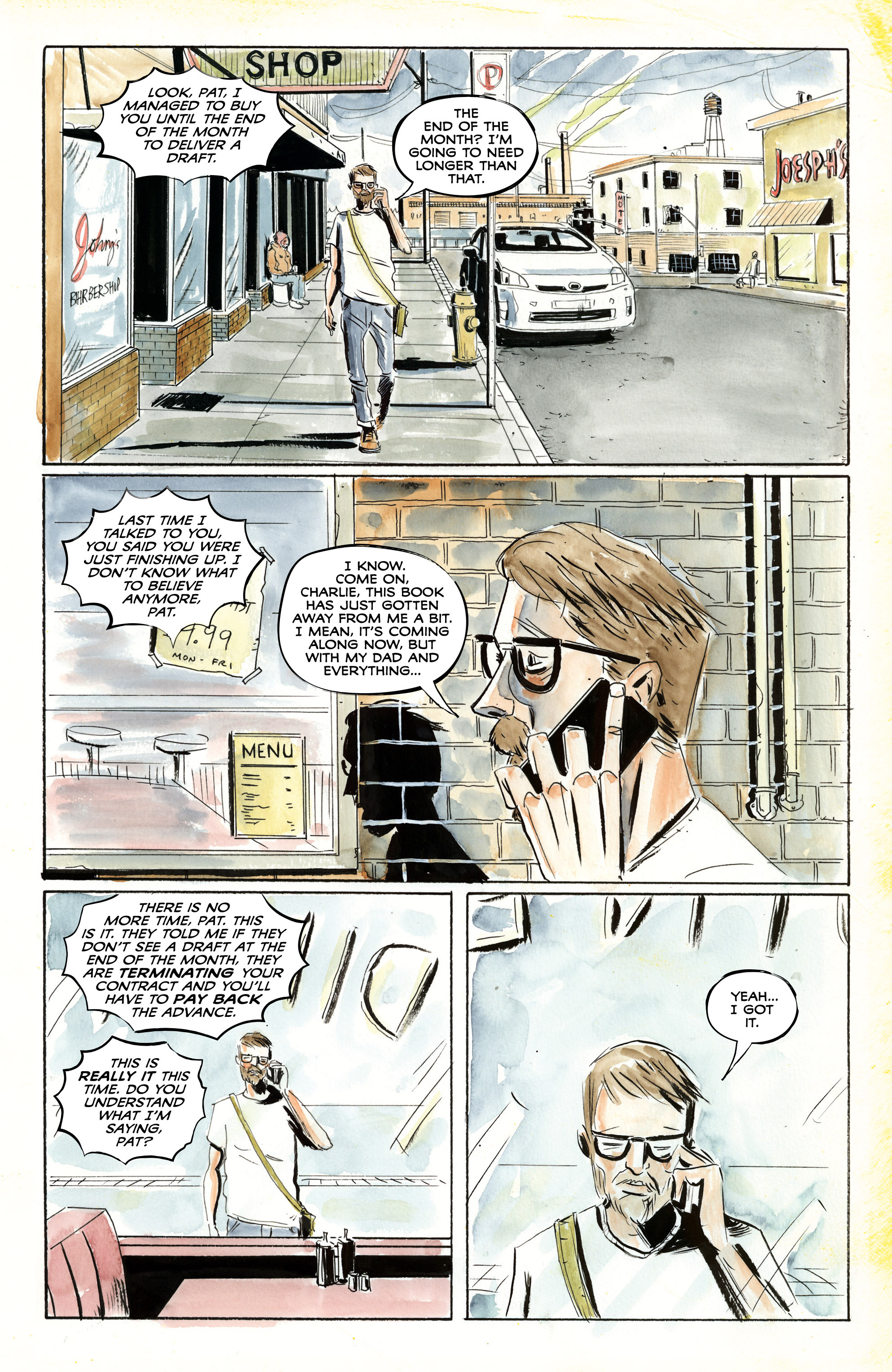 Read online Royal City comic -  Issue #3 - 12