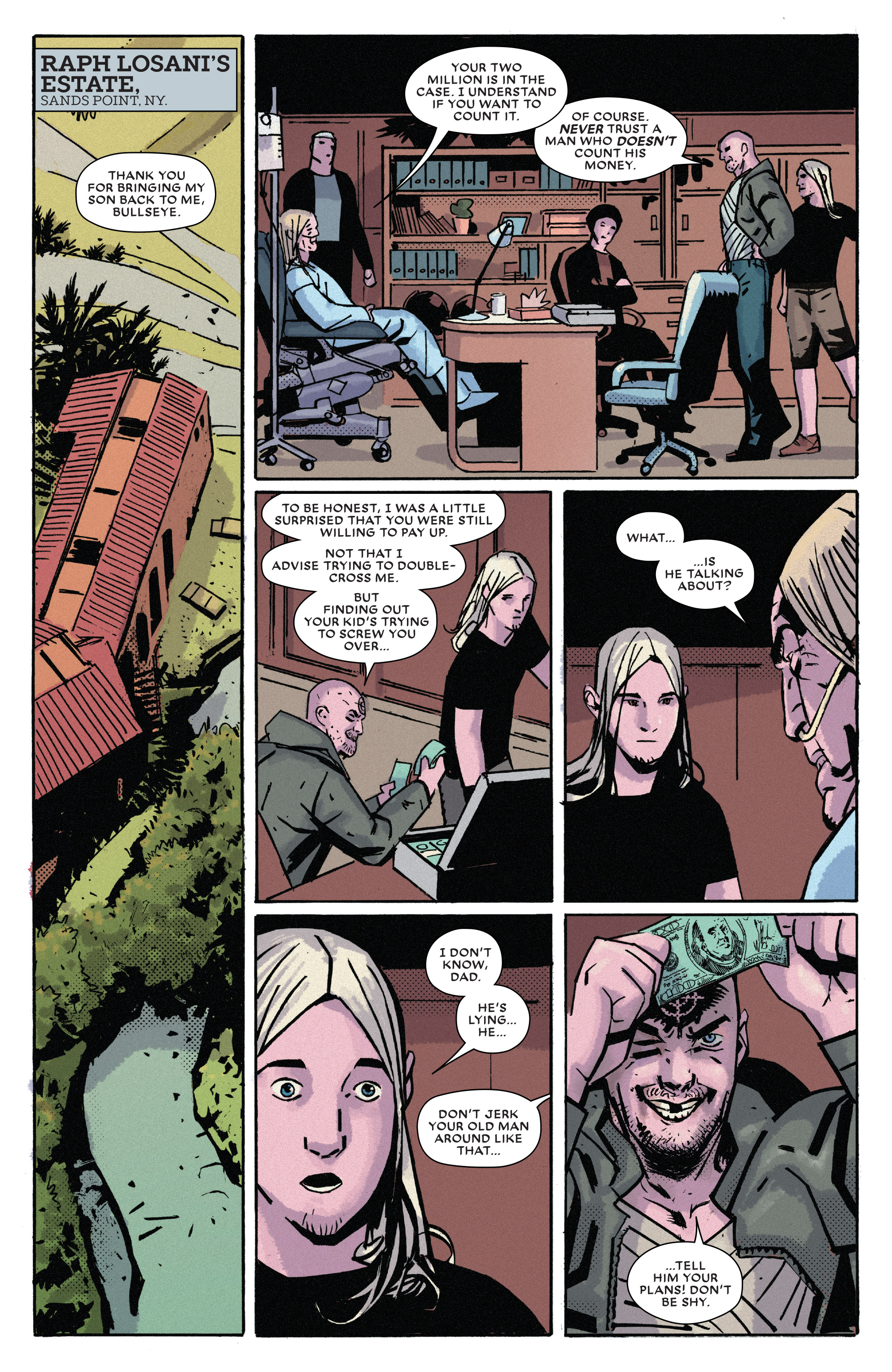 Read online Bullseye comic -  Issue #5 - 18