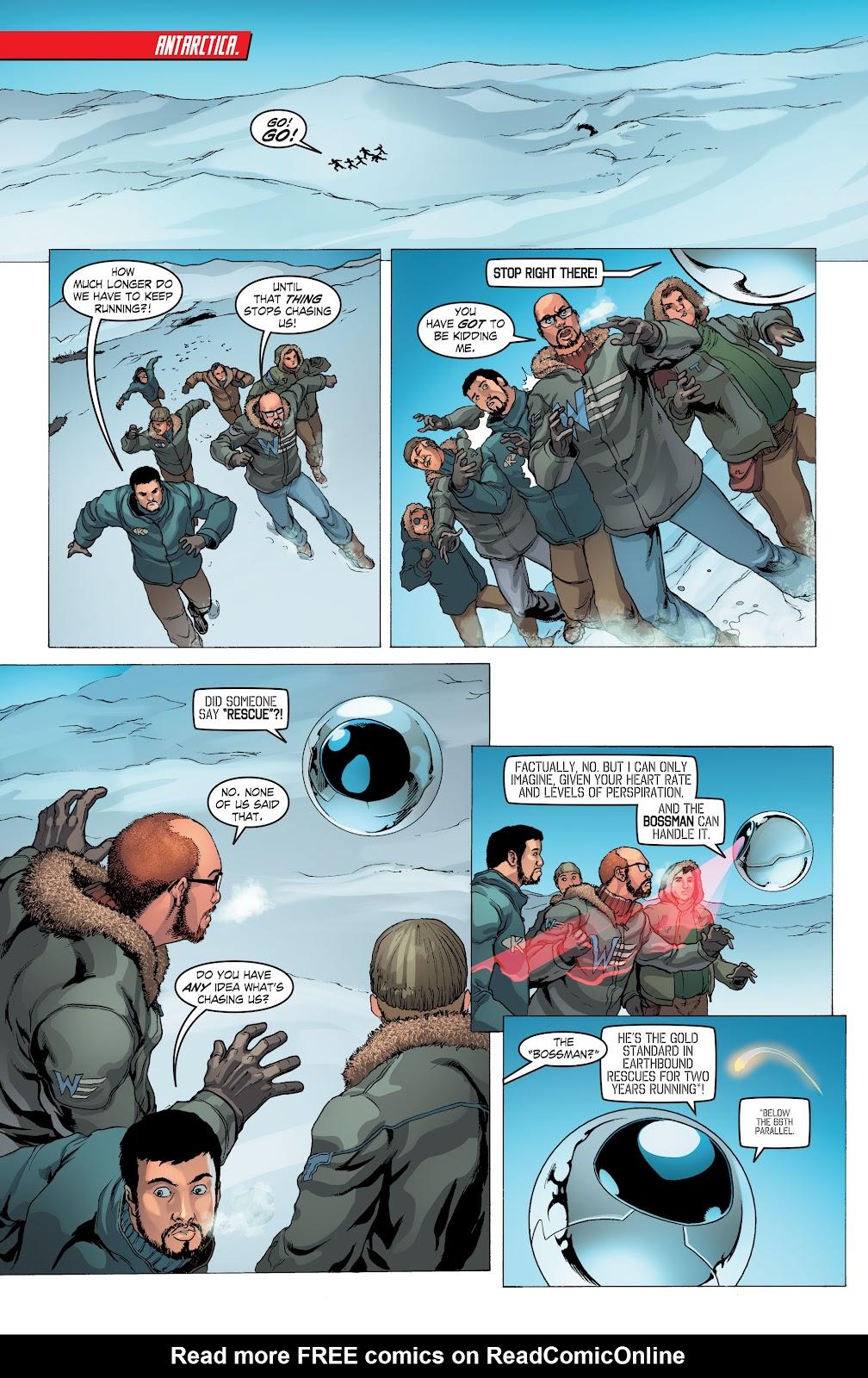 Read online Smallville Season 11 [II] comic -  Issue # TPB 4 - 7