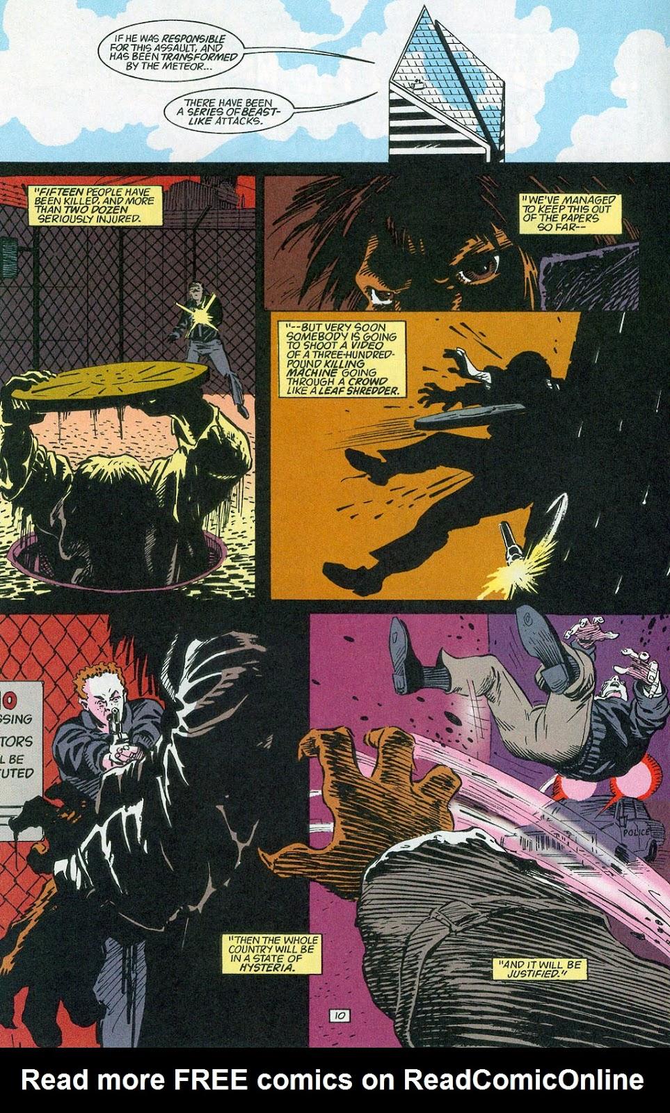 Hawkman (1993) Issue #24 #27 - English 12