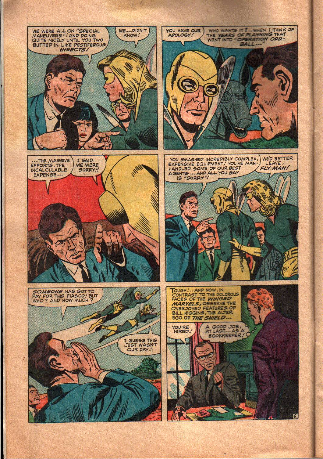 The Mighty Crusaders (1965) Issue #6 #6 - English 7