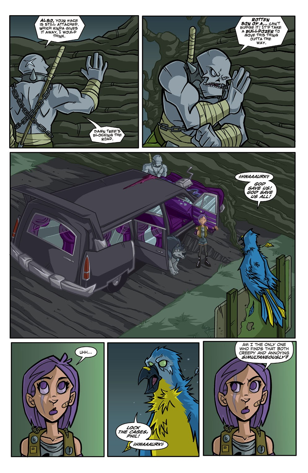 Read online Xombie Reanimated comic -  Issue #3 - 6