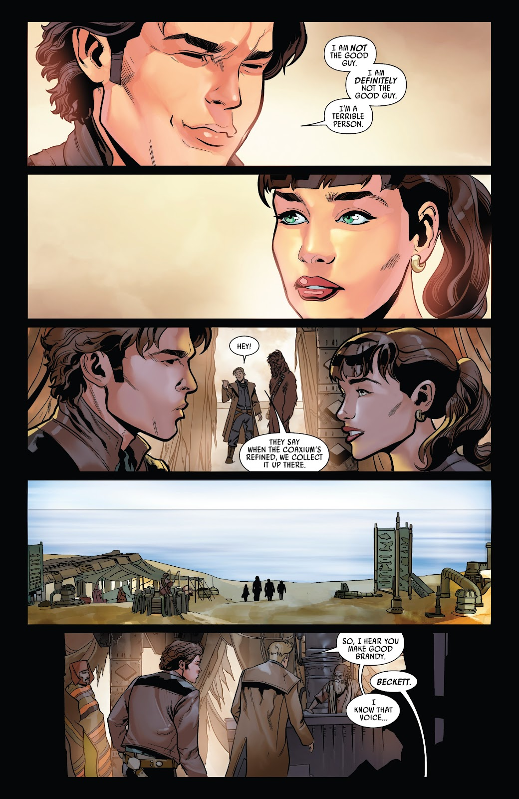 Read online Solo: A Star Wars Story Adaptation comic -  Issue #5 - 21