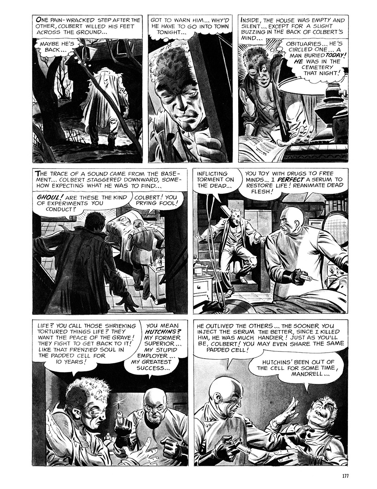 Read online Eerie Archives comic -  Issue # TPB 1 - 178