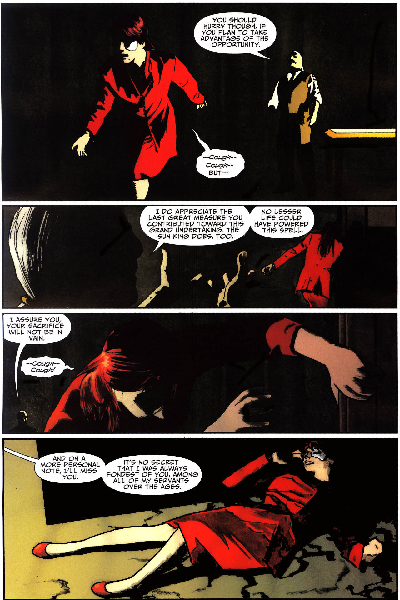Read online Shadowpact comic -  Issue #13 - 15
