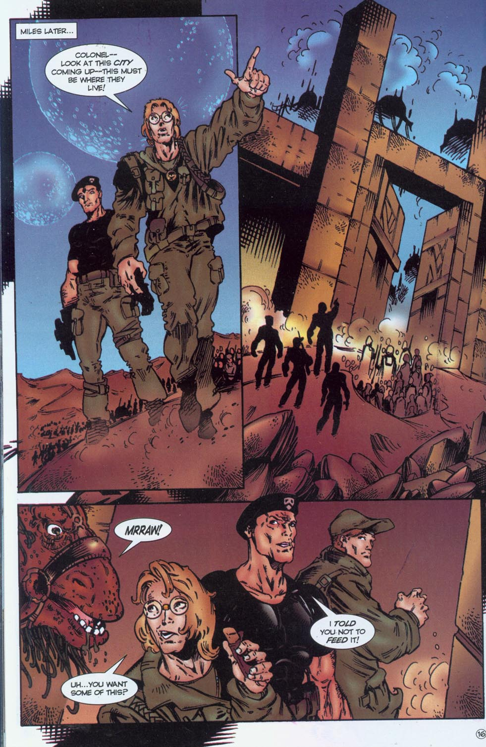 Read online Stargate comic -  Issue #1 - 18