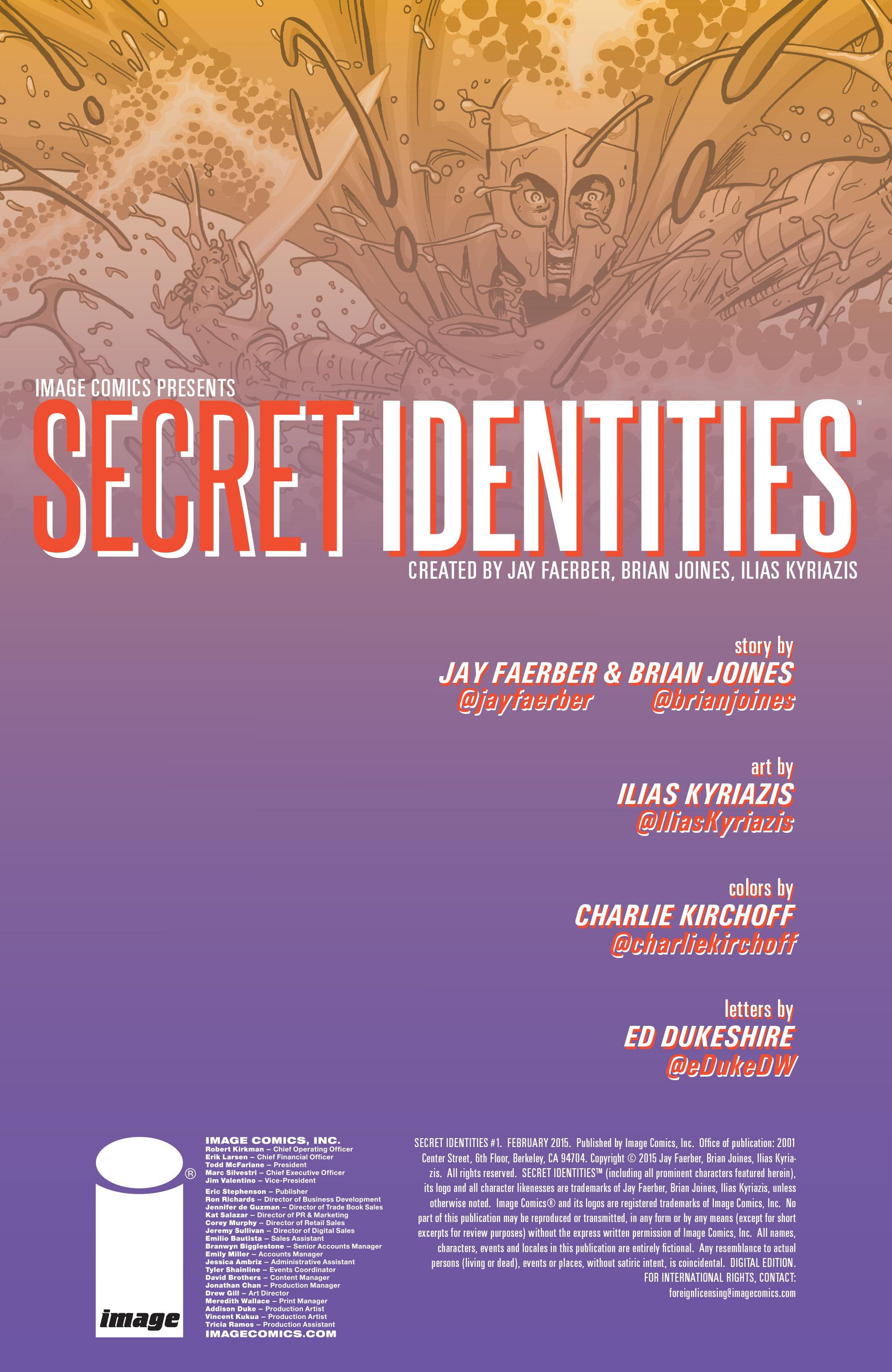 Read online Secret Identities comic -  Issue #1 - 2