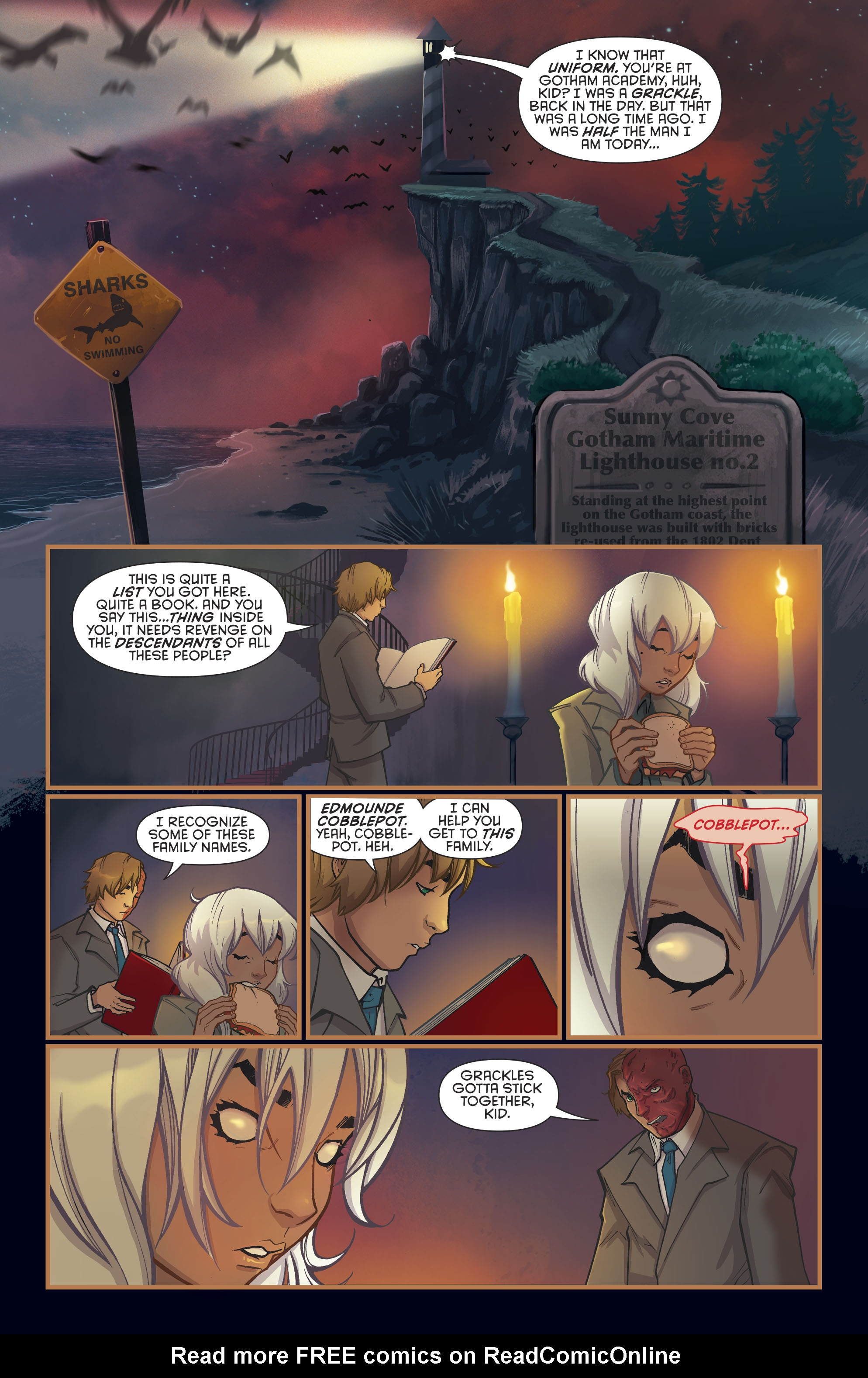 Read online Gotham Academy: Second Semester comic -  Issue #9 - 18