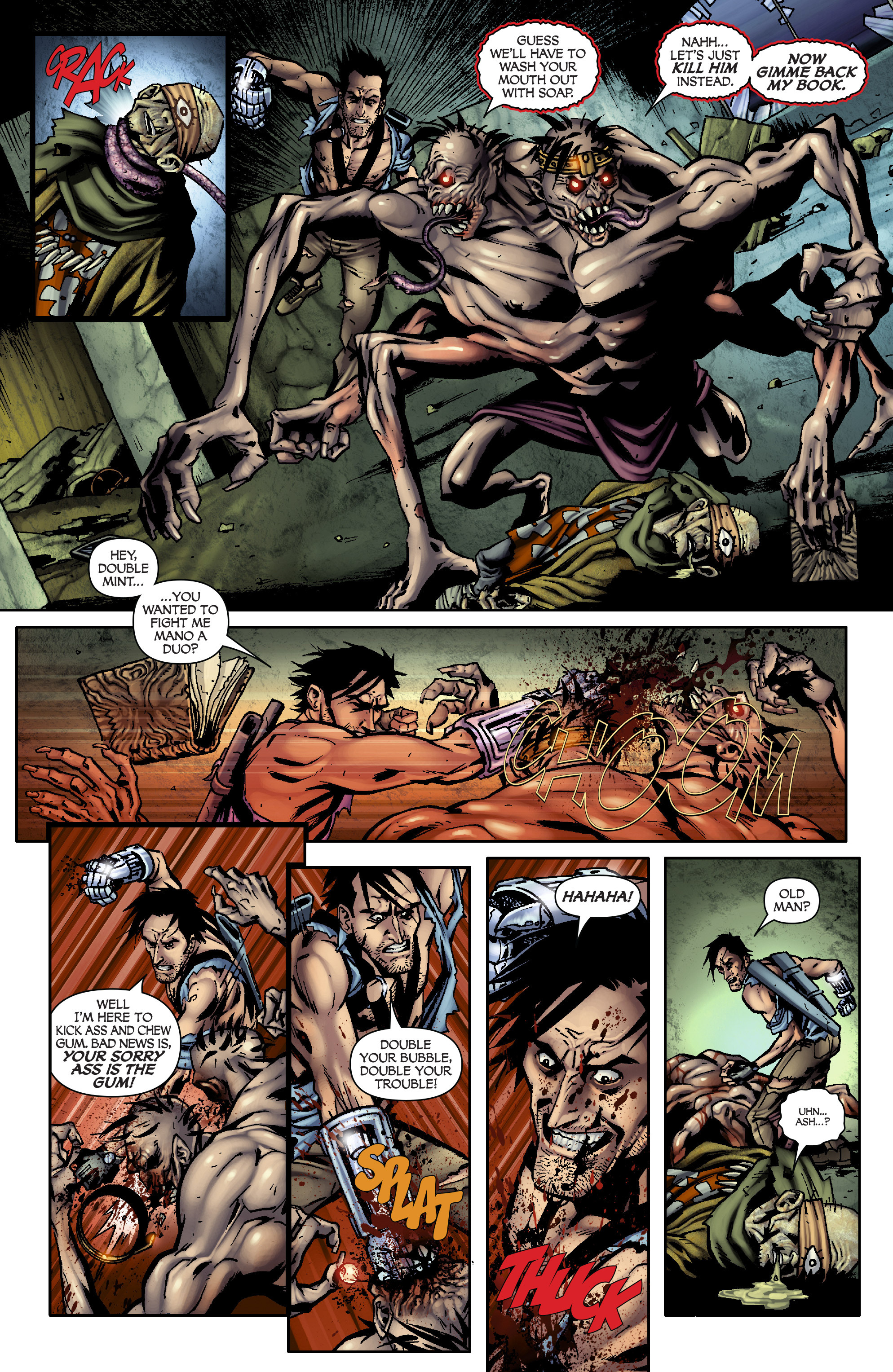 Read online Army of Darkness: From the Ashes comic -  Issue #Army of Darkness: From the Ashes TPB - 98