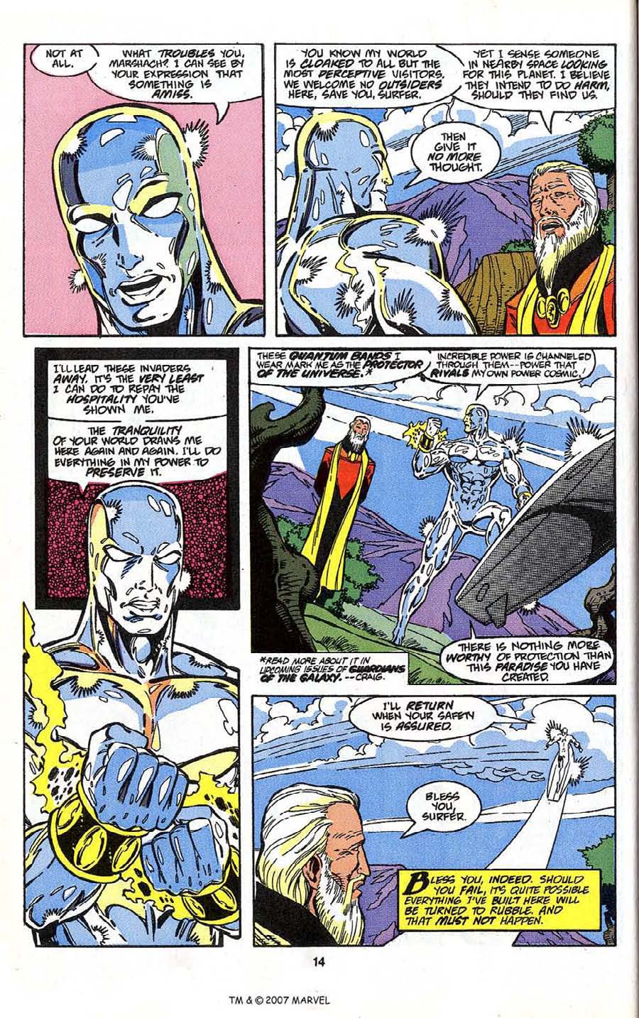 Read online Silver Surfer (1987) comic -  Issue # _Annual 4 - 16