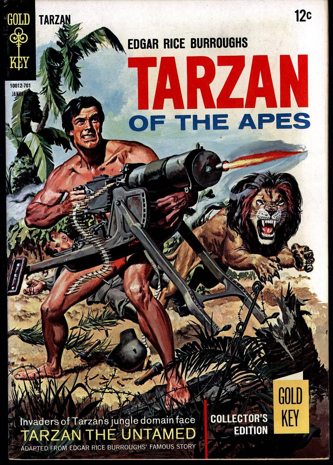 Tarzan (1962) issue 163 - Page 1