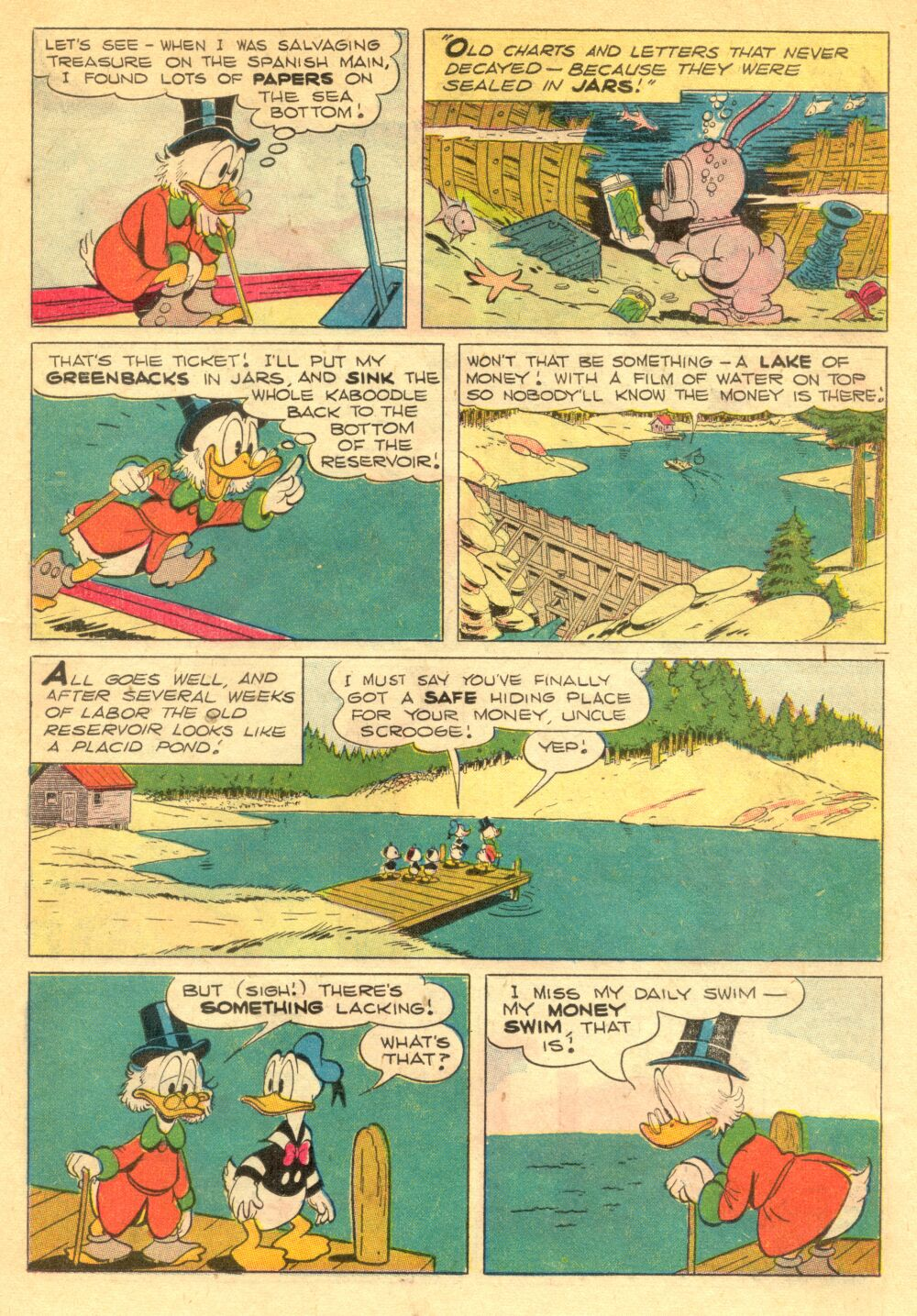 Read online Uncle Scrooge (1953) comic -  Issue #1 - 15
