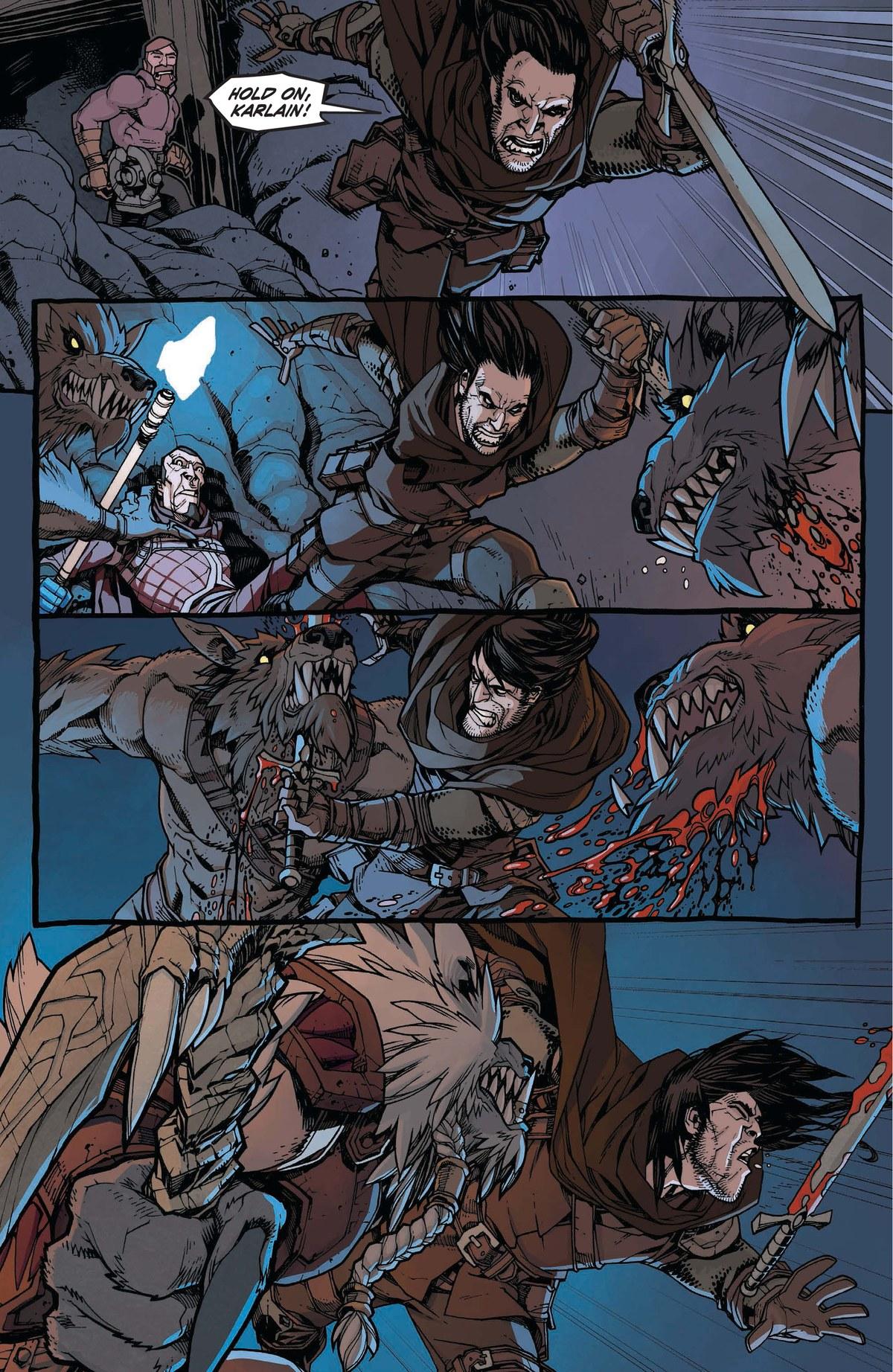 Read online World of Warcraft: Dark Riders comic -  Issue # Full - 70
