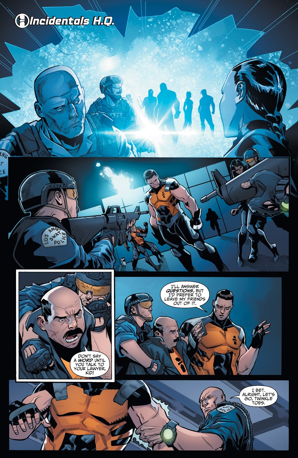 Read online Incidentals comic -  Issue #18 - 20