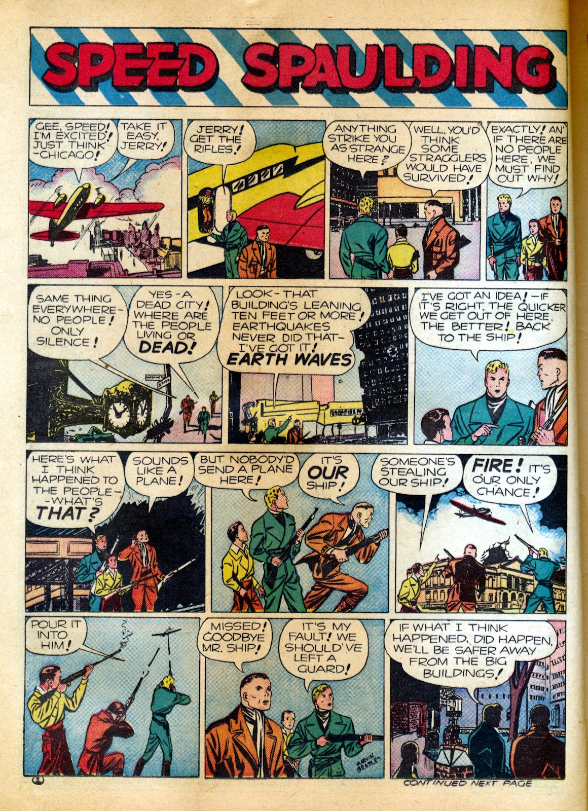 Read online Famous Funnies comic -  Issue #82 - 22