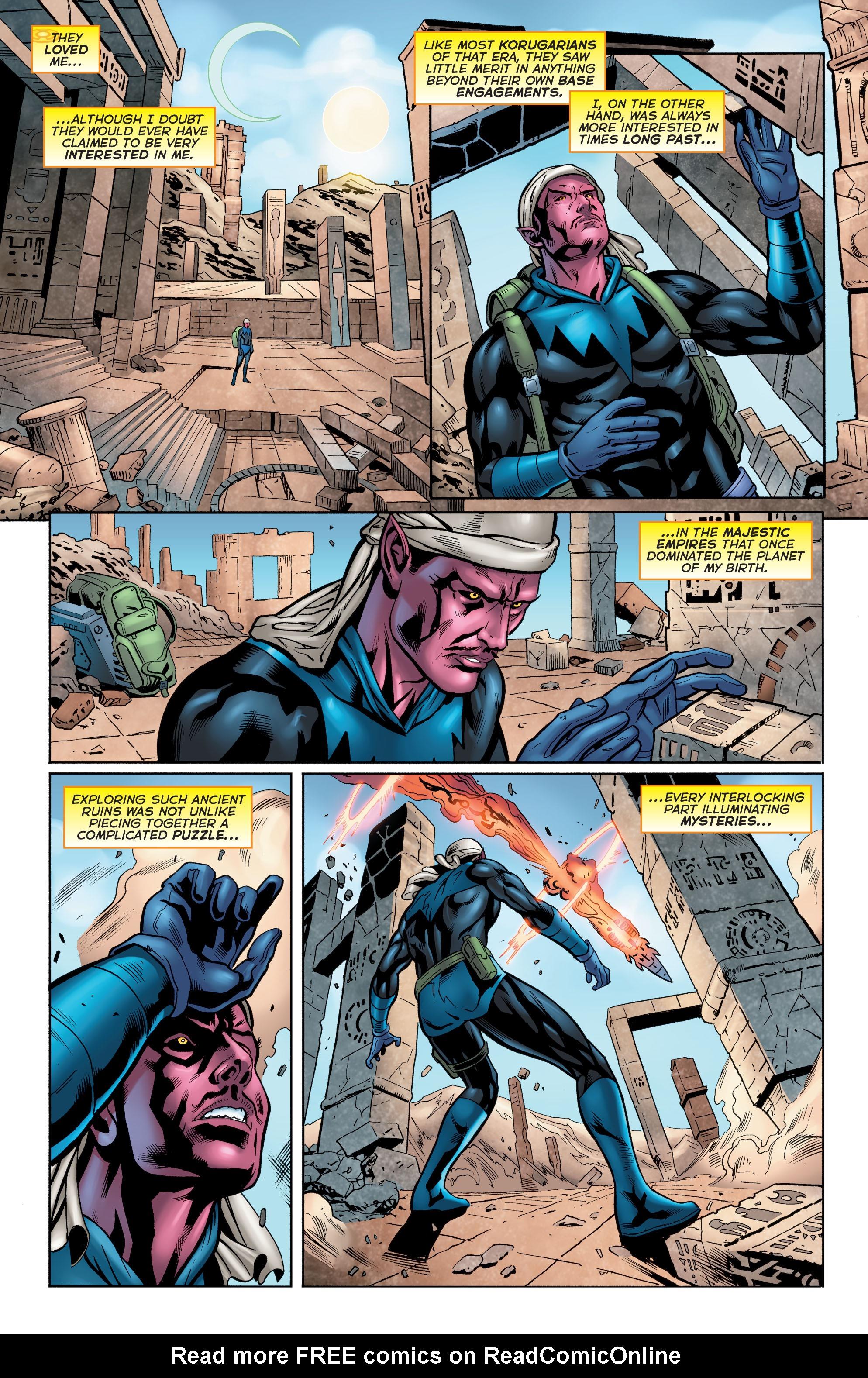 Read online Secret Origins (2014) comic -  Issue #6 - 26