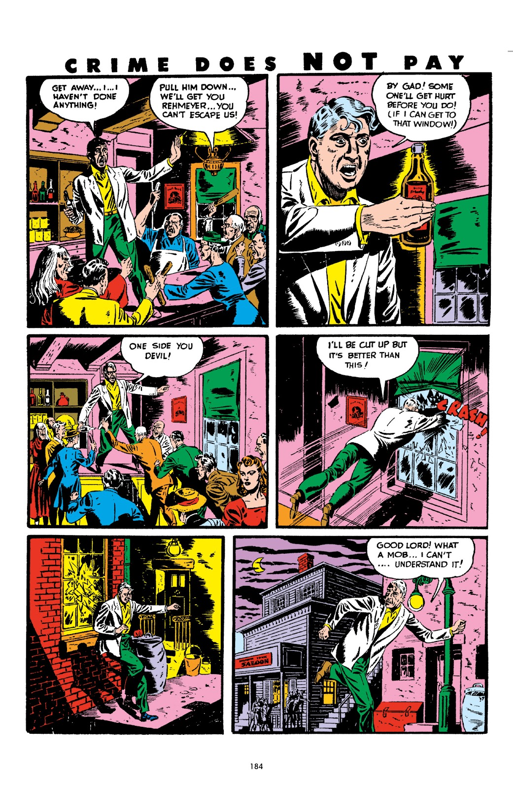 Read online Crime Does Not Pay Archives comic -  Issue # TPB 2 (Part 2) - 84