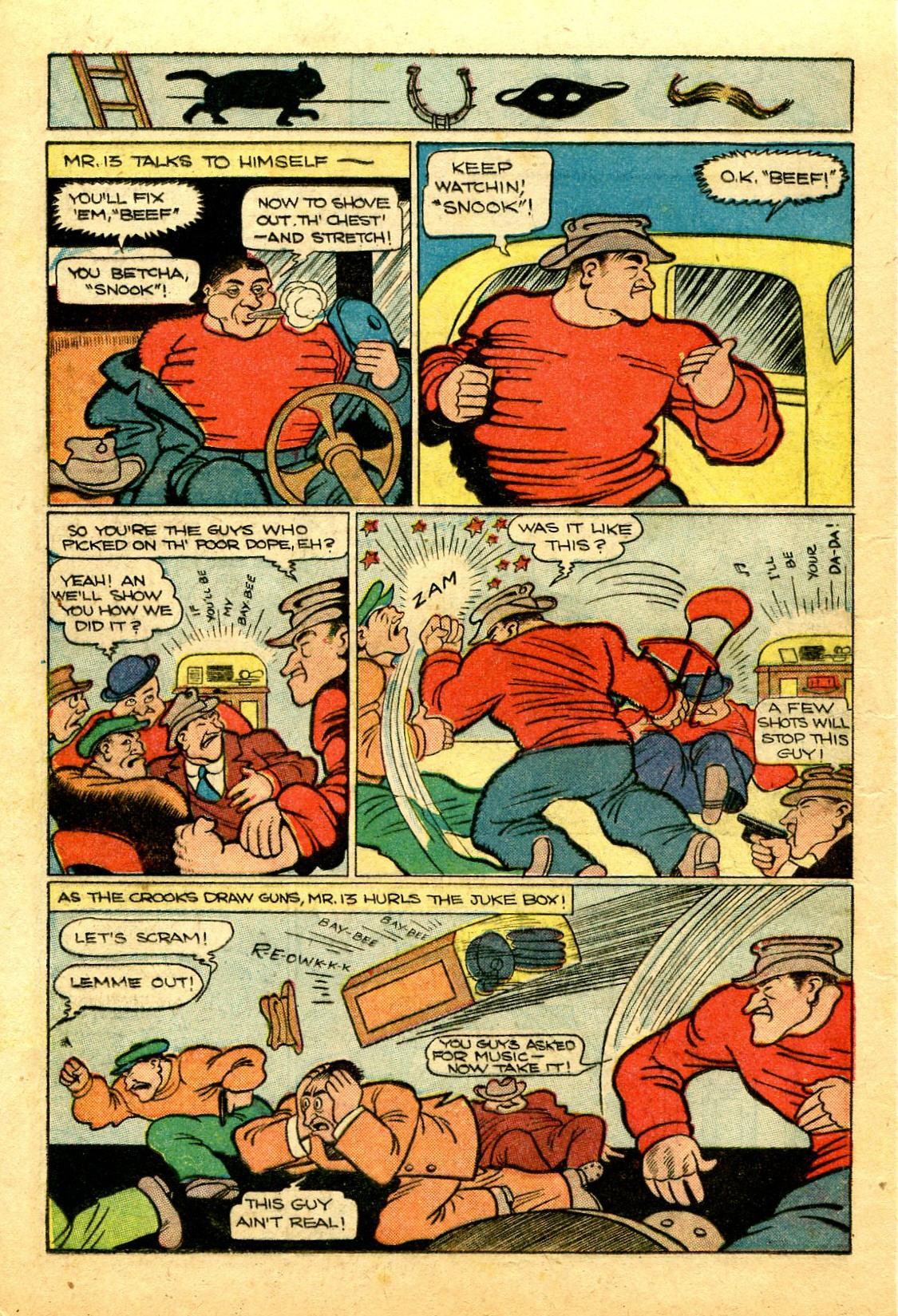 Read online Shadow Comics comic -  Issue #43 - 22