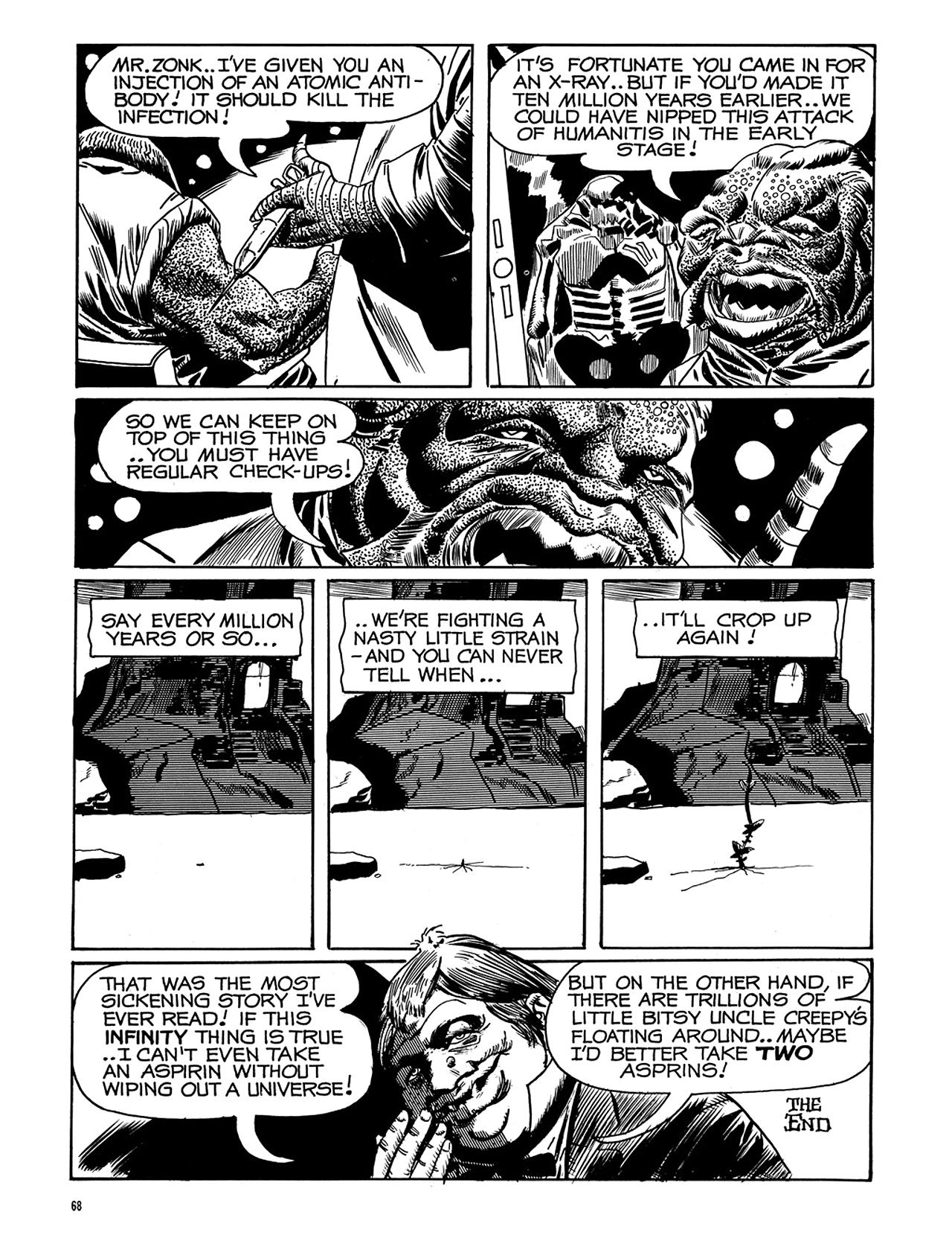 Read online Eerie Archives comic -  Issue # TPB 6 - 69