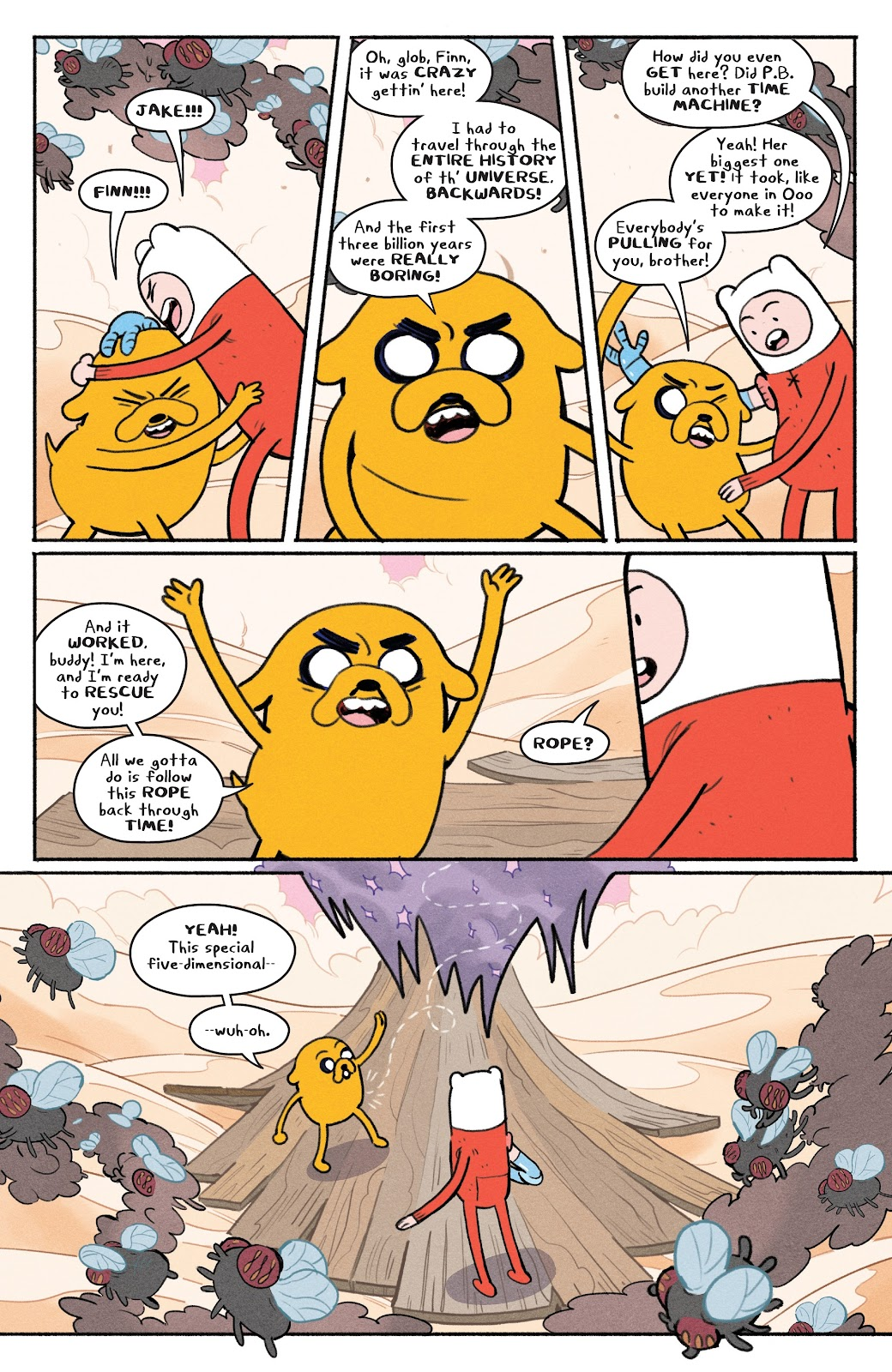 Read online Adventure Time: Beginning of the End comic -  Issue # _TPB - 66
