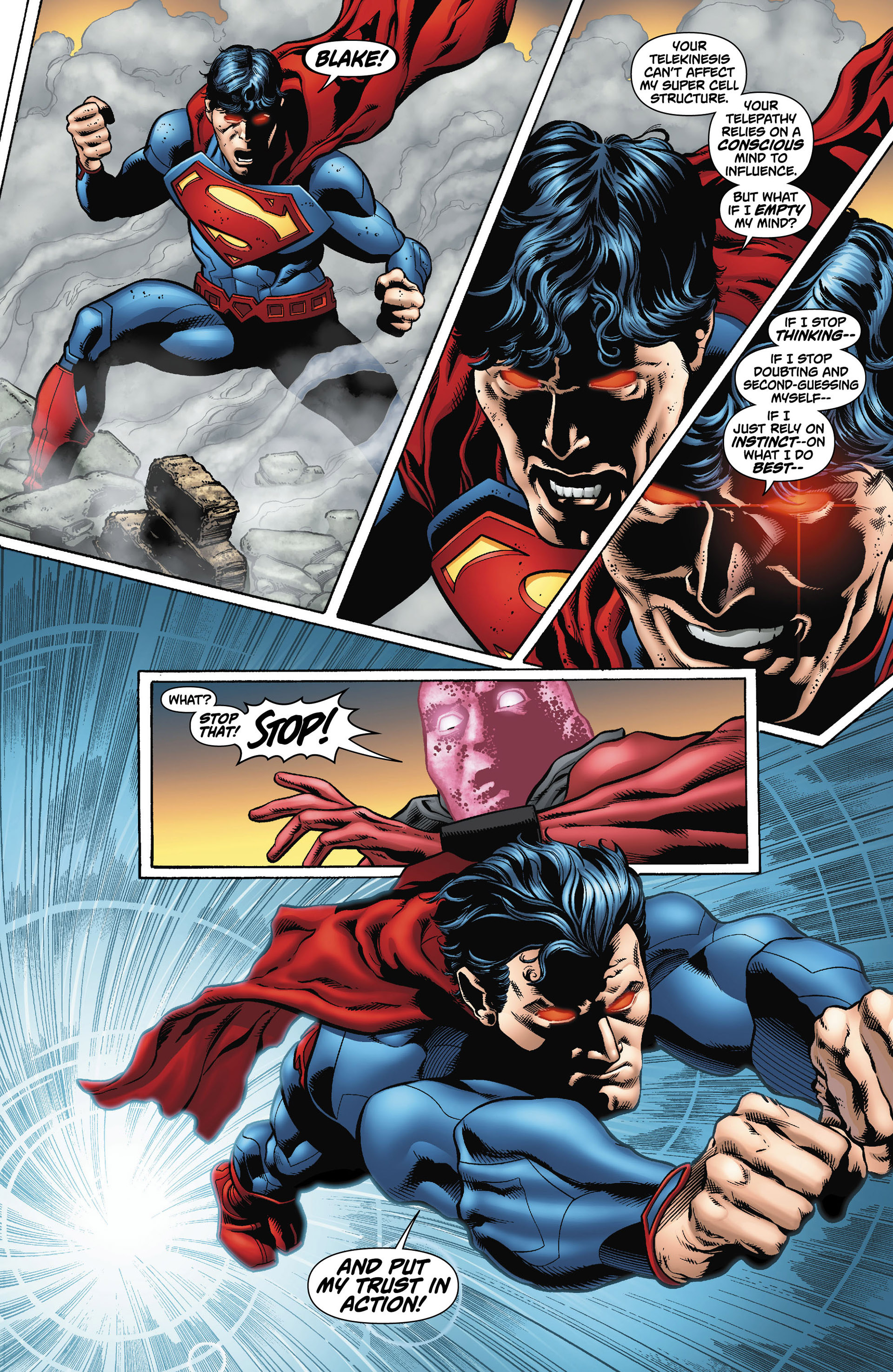 Read online Action Comics (2011) comic -  Issue #12 - 19