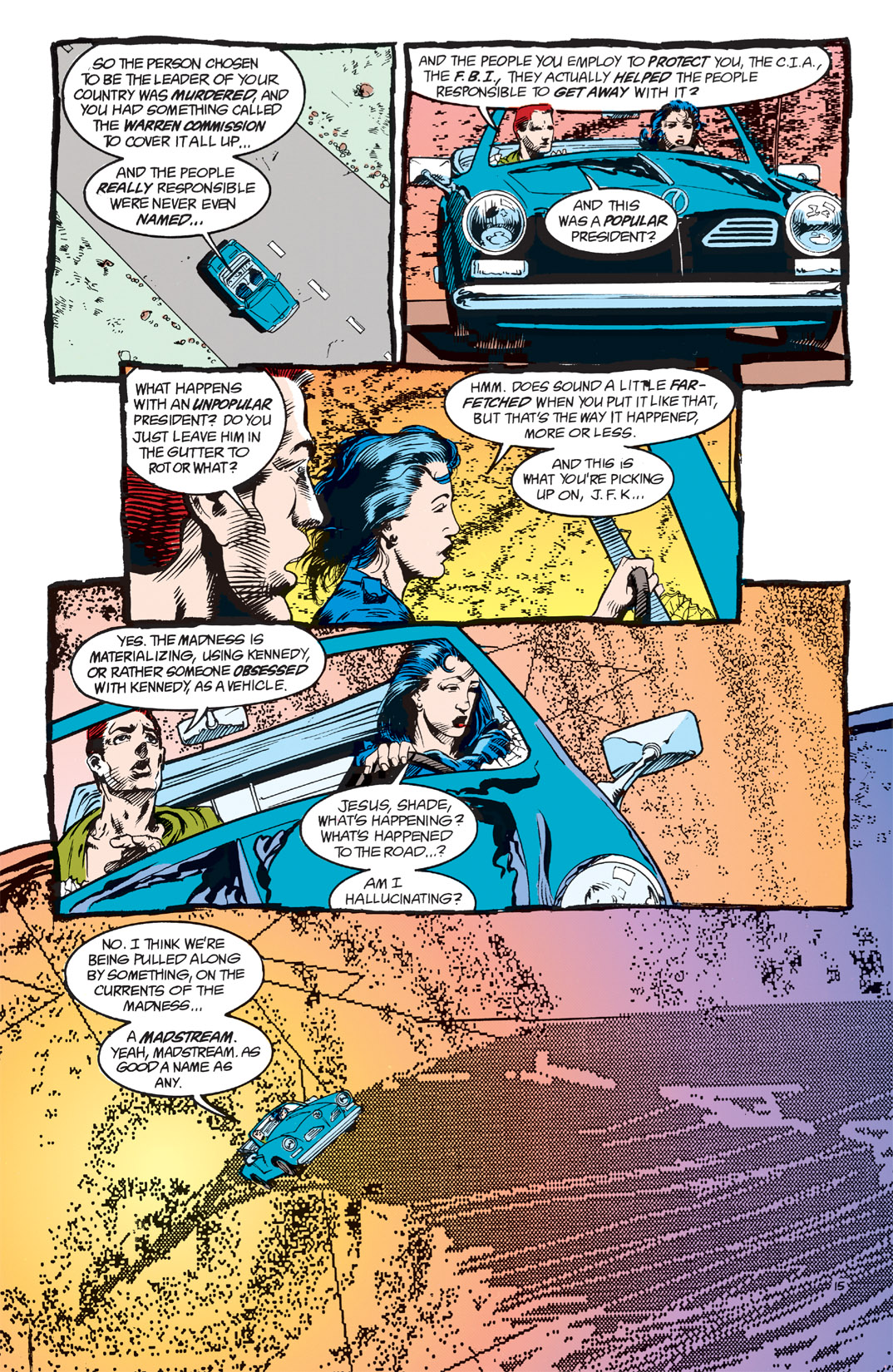 Read online Shade, the Changing Man comic -  Issue #2 - 17