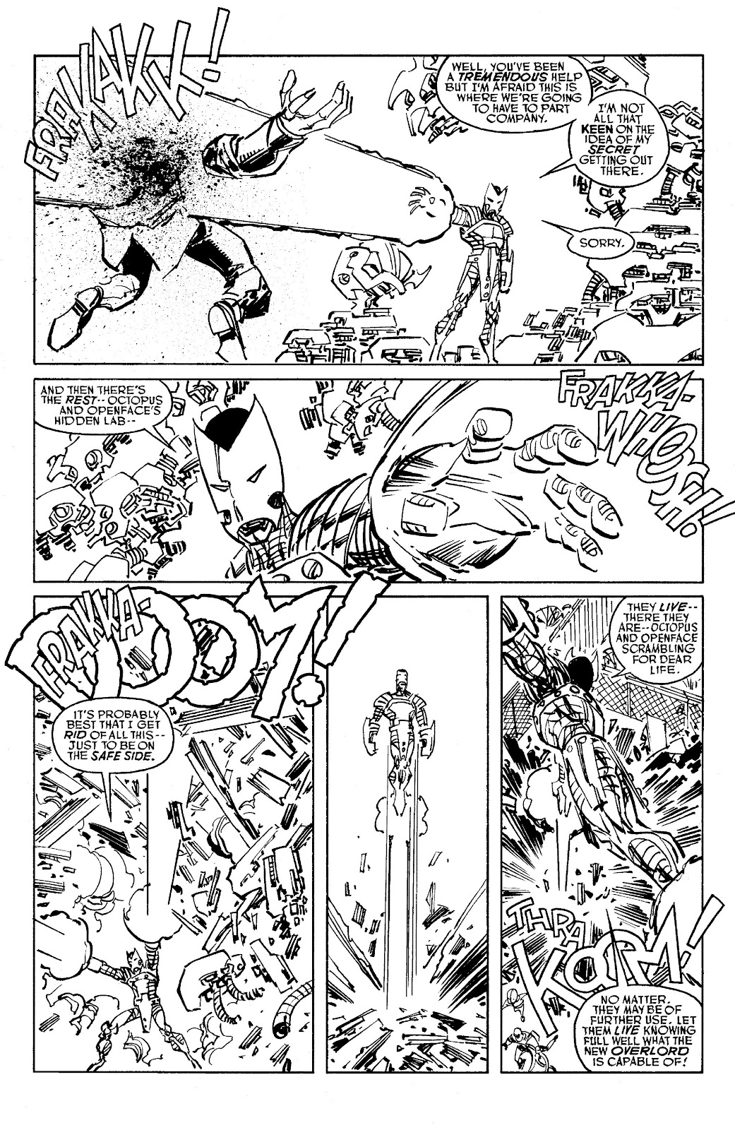 Read online Savage Dragon Archives comic -  Issue # TPB 6 (Part 5) - 95
