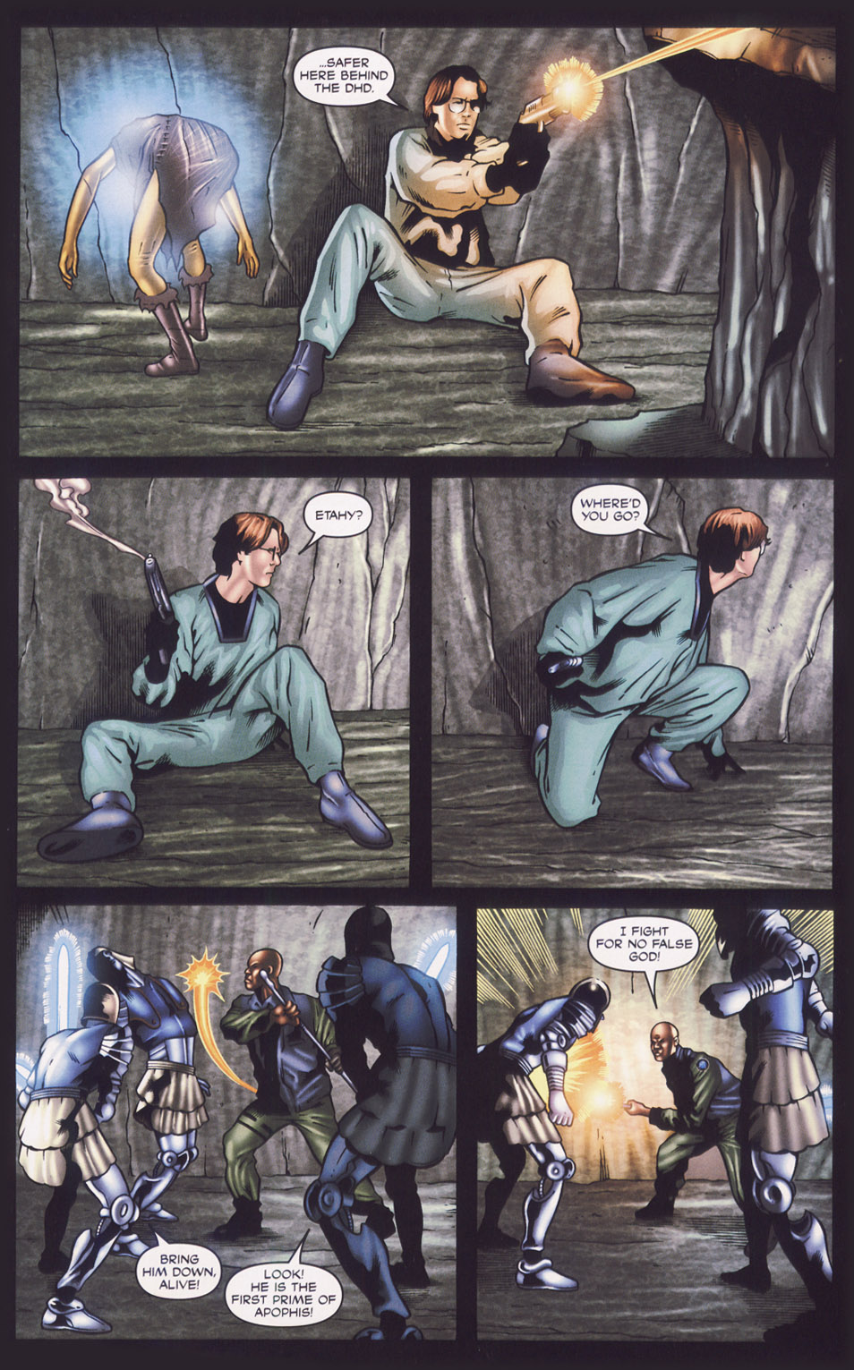 Read online Stargate SG-1: Fall of Rome comic -  Issue #1 - 20