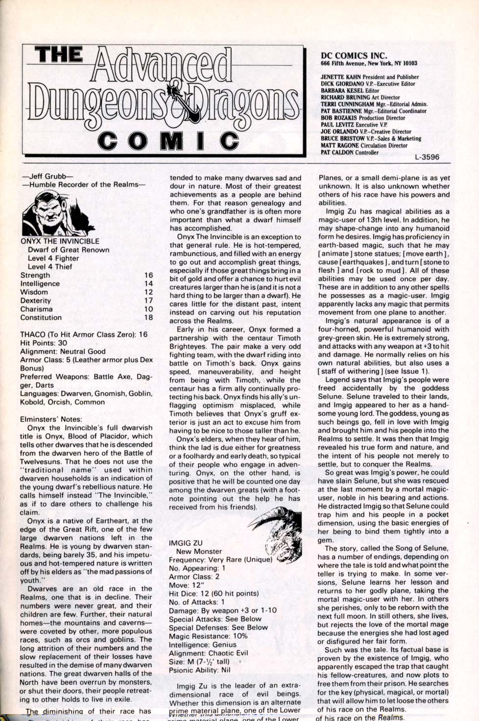 Read online Advanced Dungeons & Dragons comic -  Issue #3 - 25