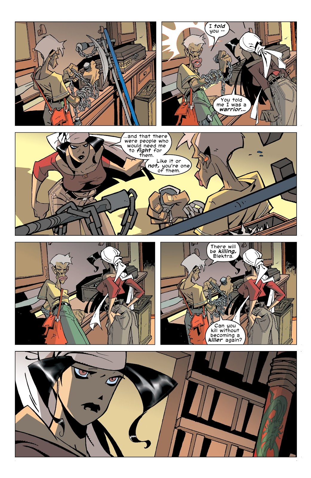 Read online Elektra (2001) comic -  Issue # _TPB Elektra by Greg Rucka Ultimate Collection (Part 4) - 25