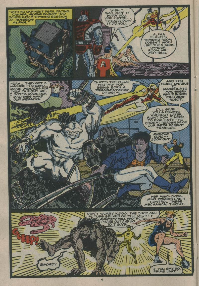 Read online Alpha Flight (1983) comic -  Issue #53 - 5