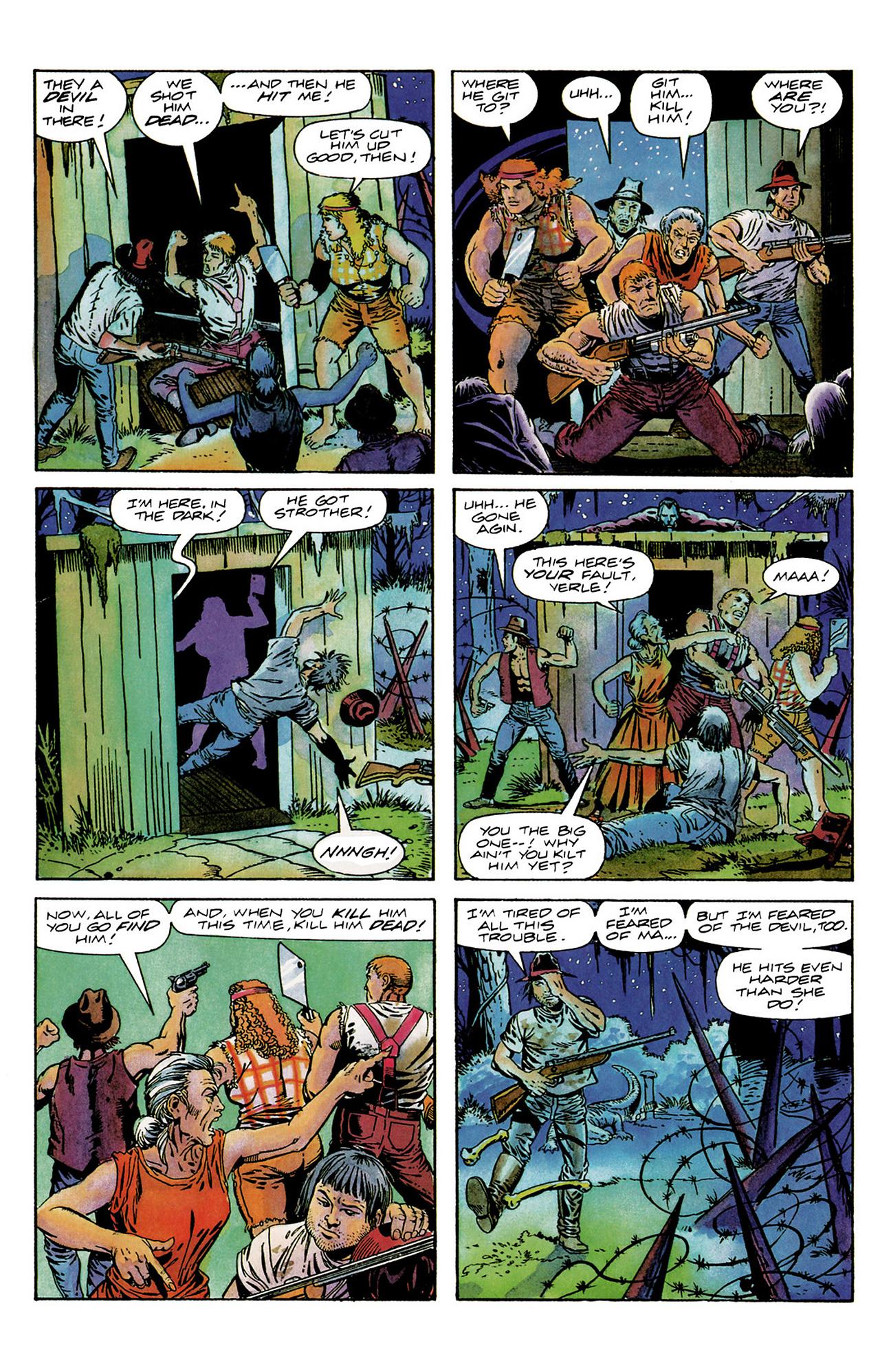 Read online Shadowman (1992) comic -  Issue #6 - 18