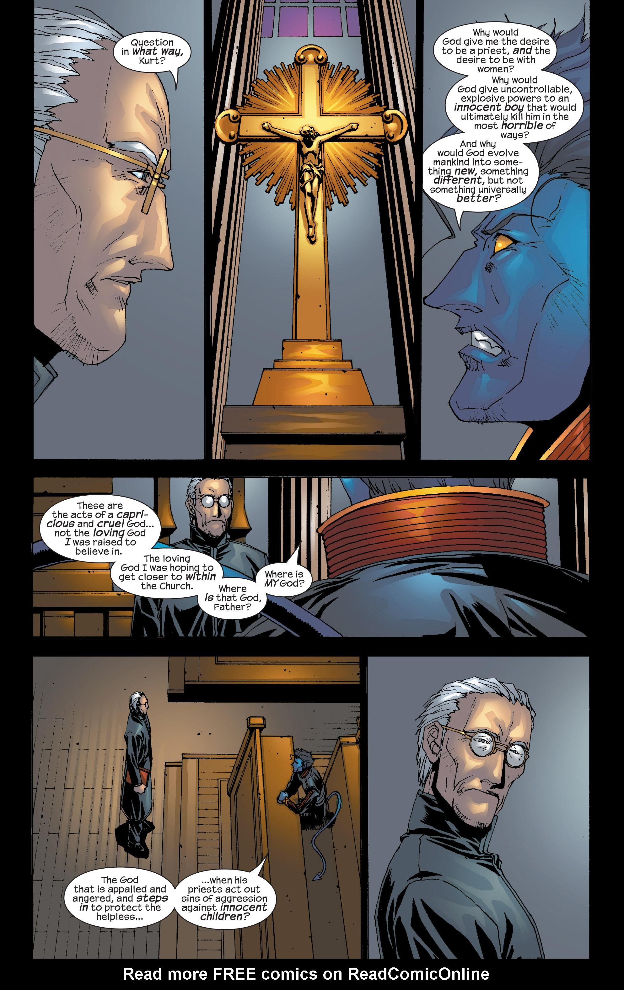 Read online Uncanny X-Men (1963) comic -  Issue #419 - 21
