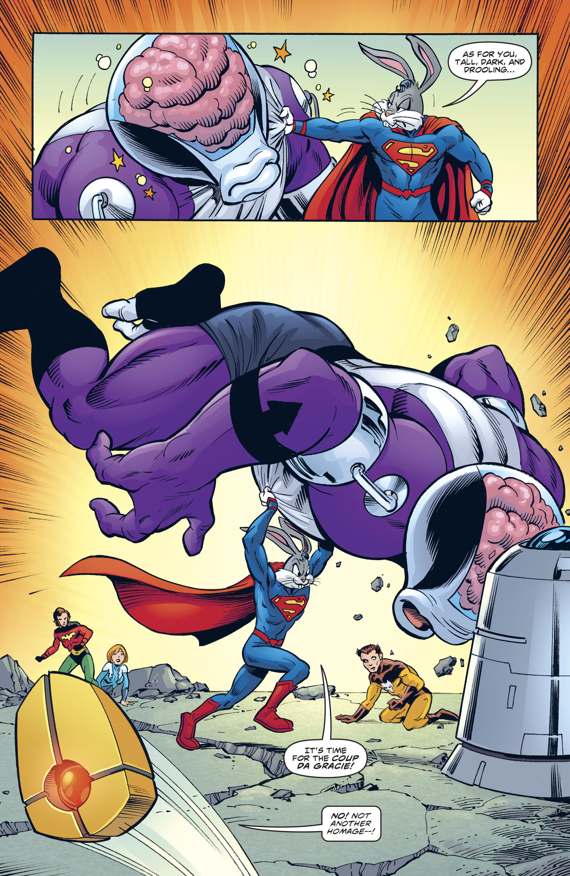 Read online Legion of Super-Heroes/Bugs Bunny Special comic -  Issue # Full - 28