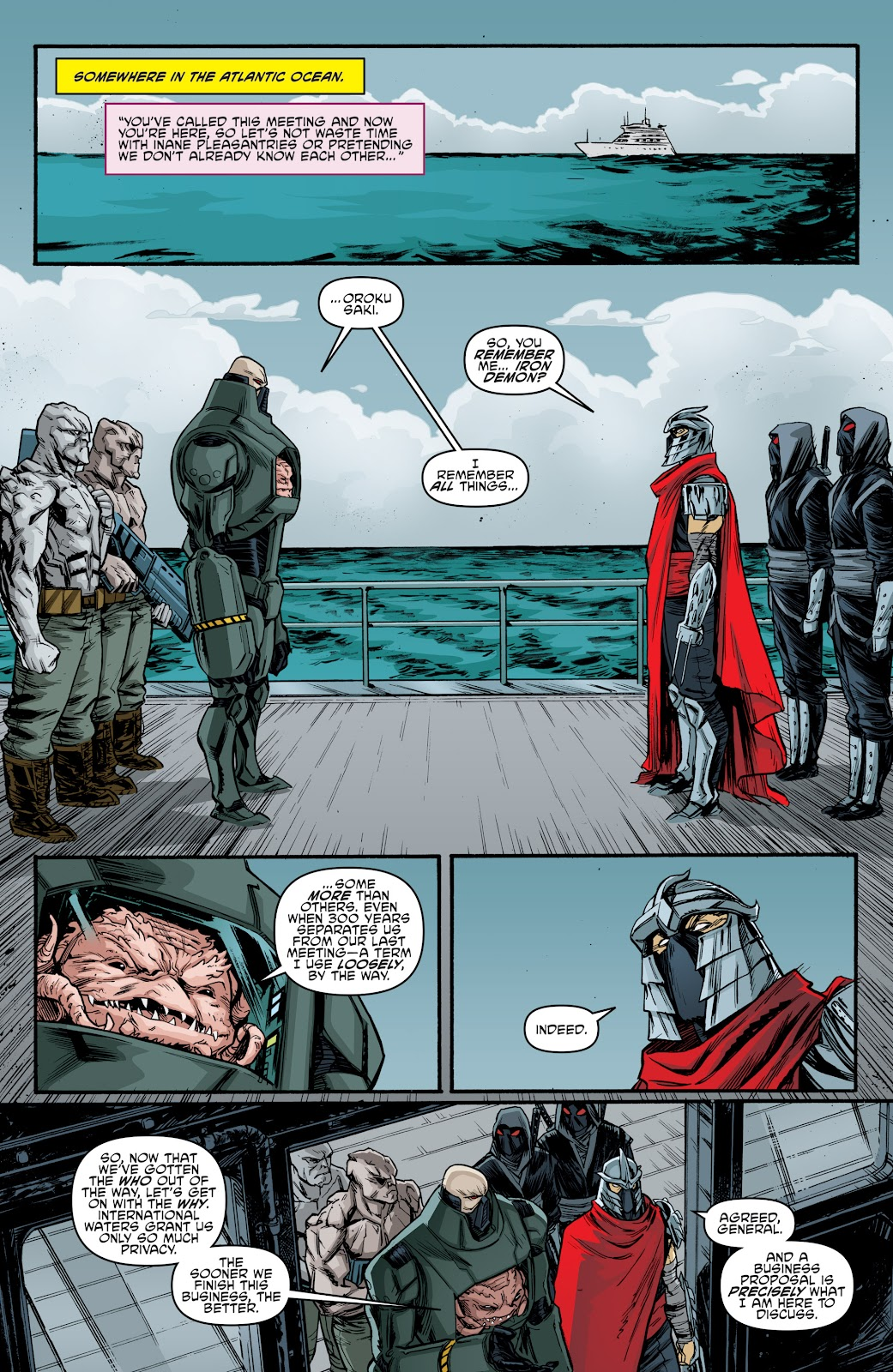 Read online Teenage Mutant Ninja Turtles: The IDW Collection comic -  Issue # TPB 4 (Part 3) - 99