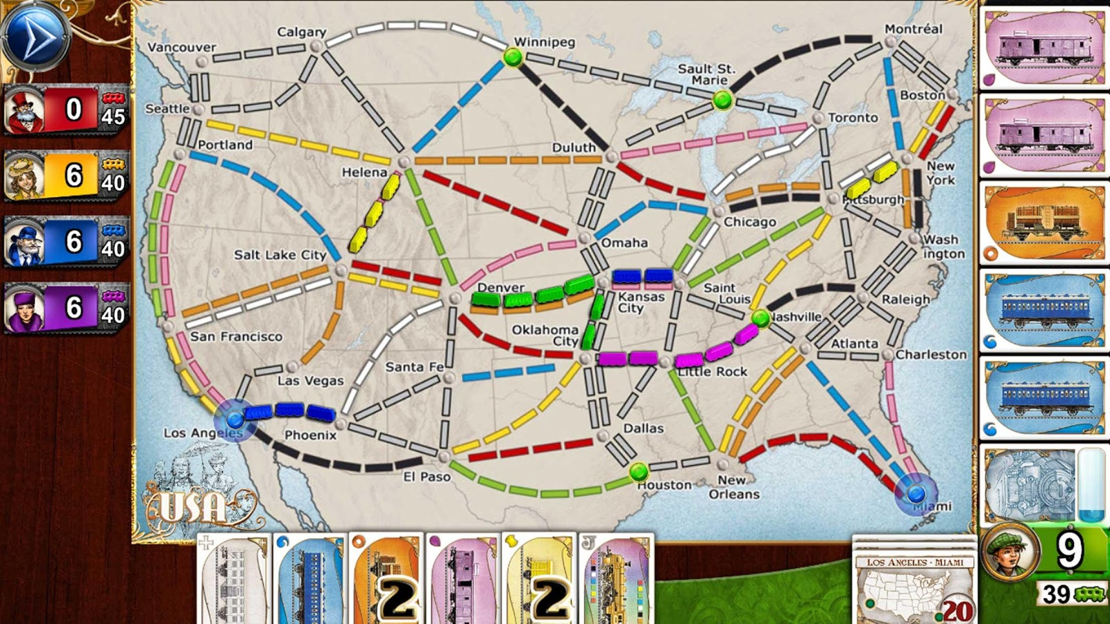 Ticket to Ride Android FULL APK İndir - androidliyim