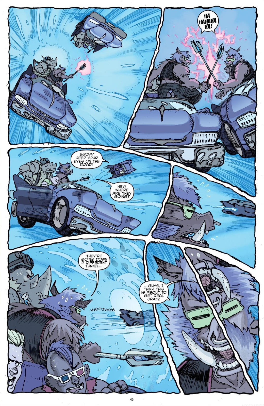 Read online Teenage Mutant Ninja Turtles: The IDW Collection comic -  Issue # TPB 8 (Part 1) - 45
