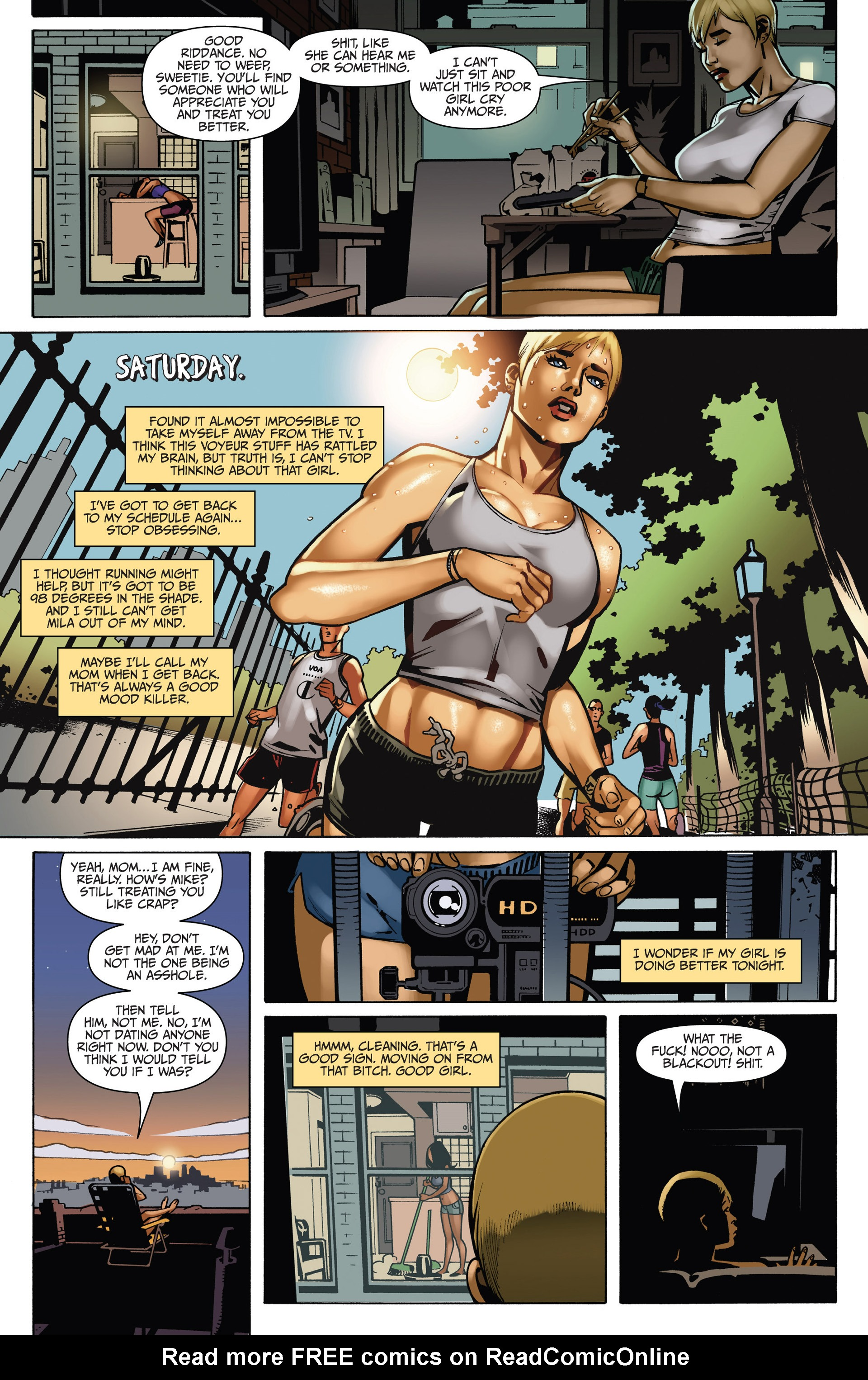 Read online Sex and Violence comic -  Issue # Full - 56