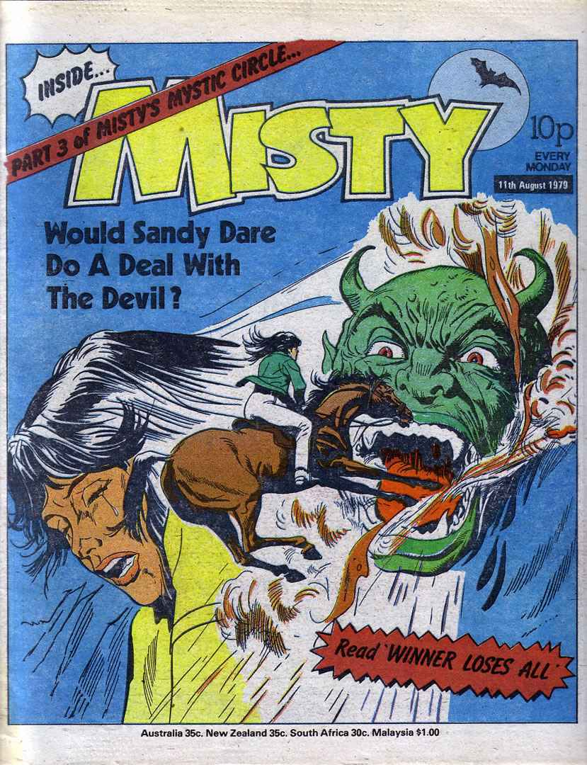 Read online Misty comic -  Issue #79 - 1