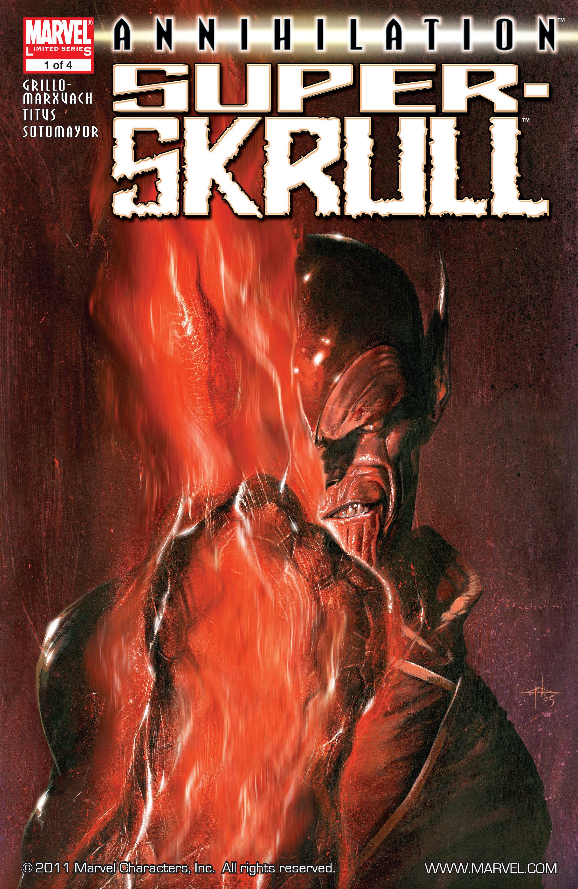 Read online Annihilation: Super-Skrull comic -  Issue #1 - 1