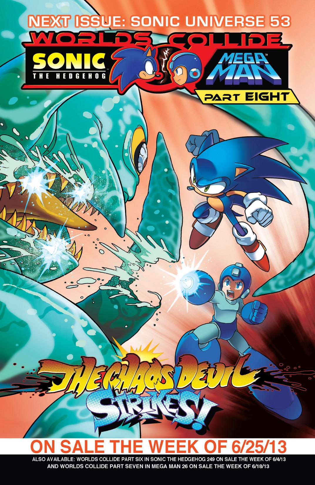 Read online Sonic Mega Man Worlds Collide comic -  Issue # Vol 2 - 32