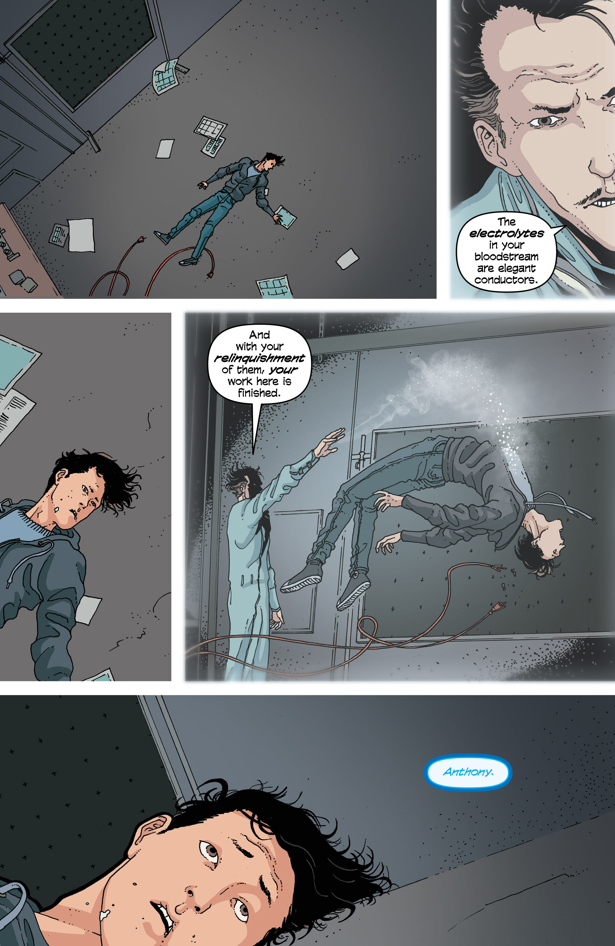 Read online Snowfall comic -  Issue #2 - 11